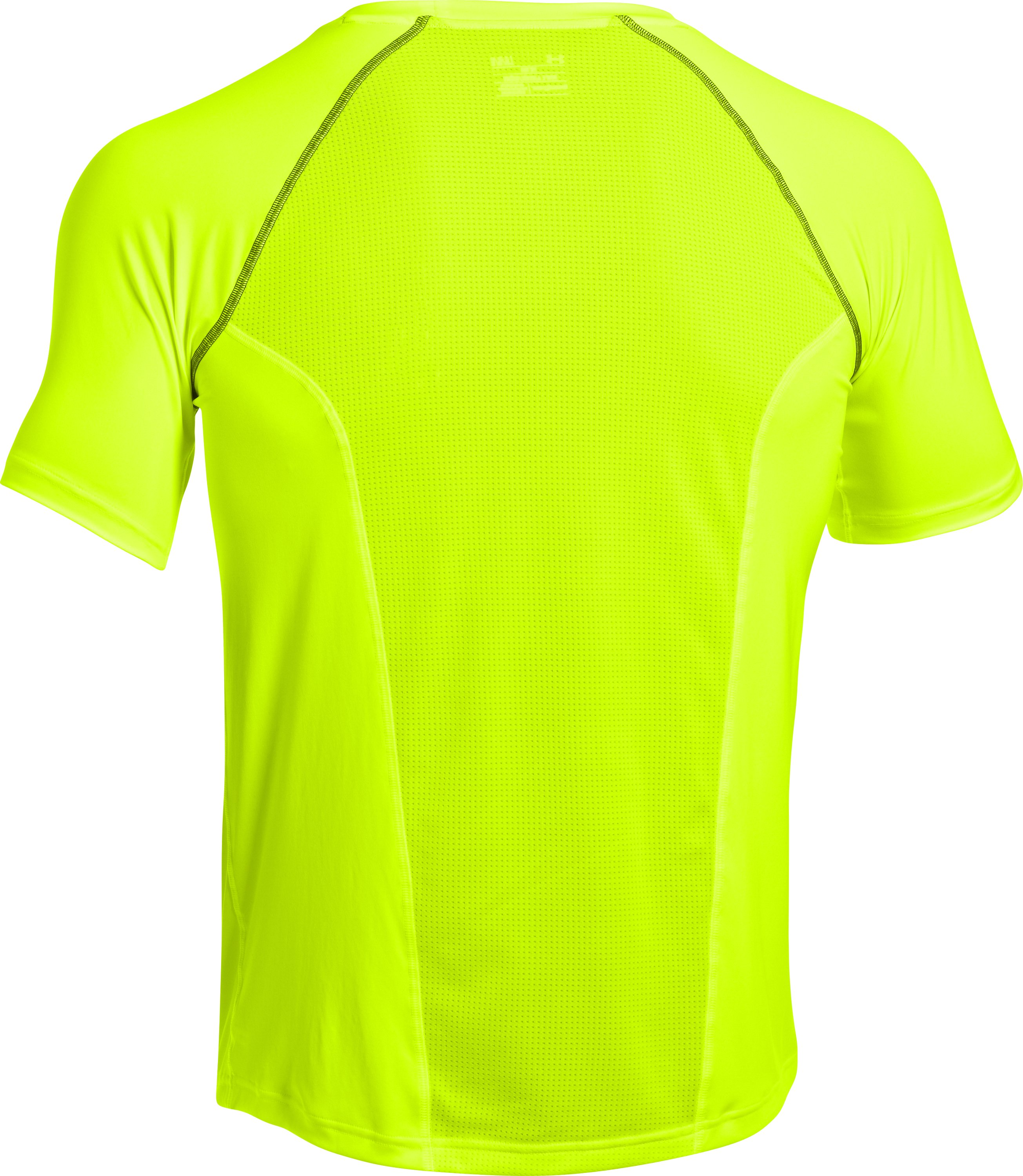 Men's UA Run Short Sleeve, High-Vis Yellow