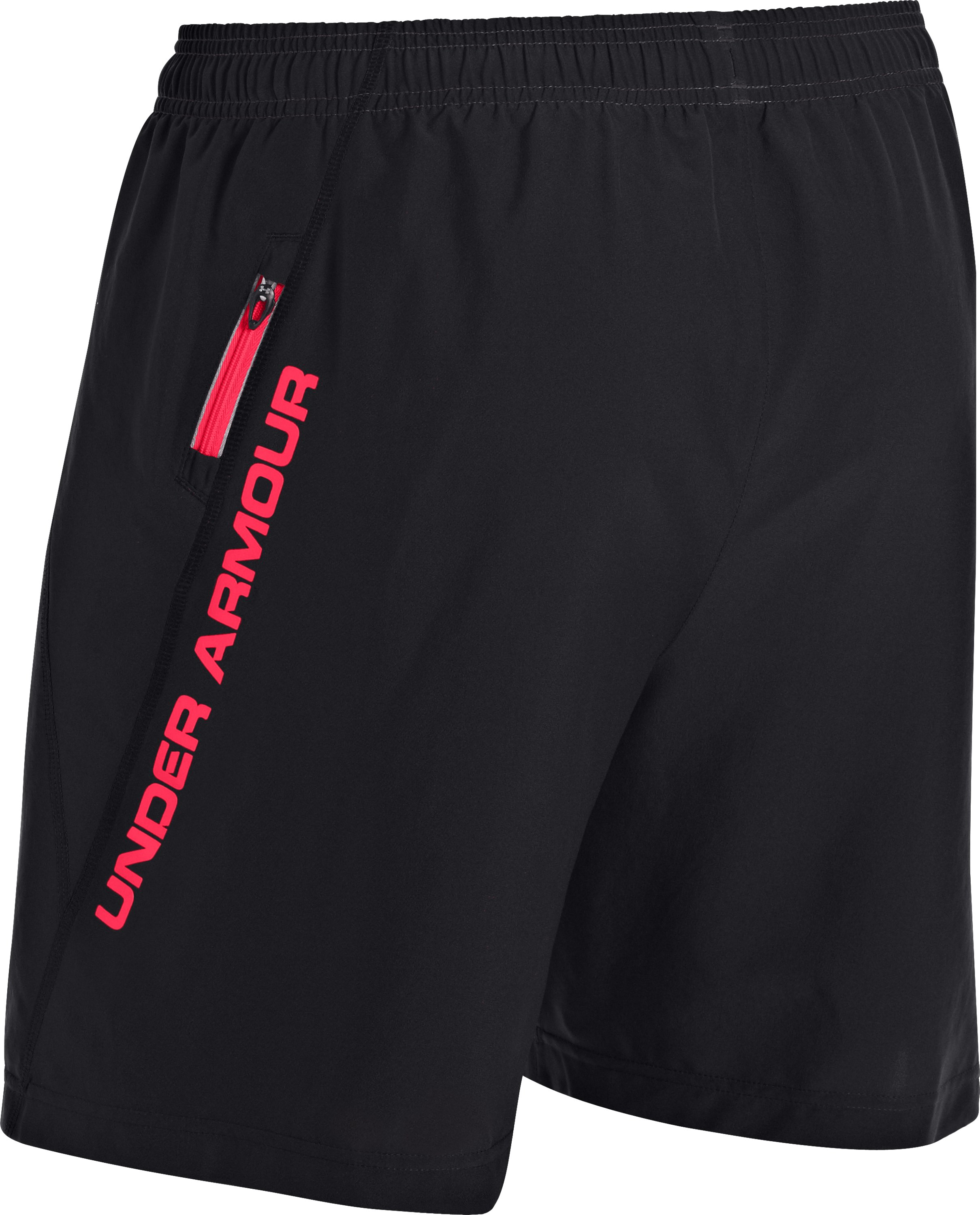 "Men's UA Run 7"" Shorts, Black"