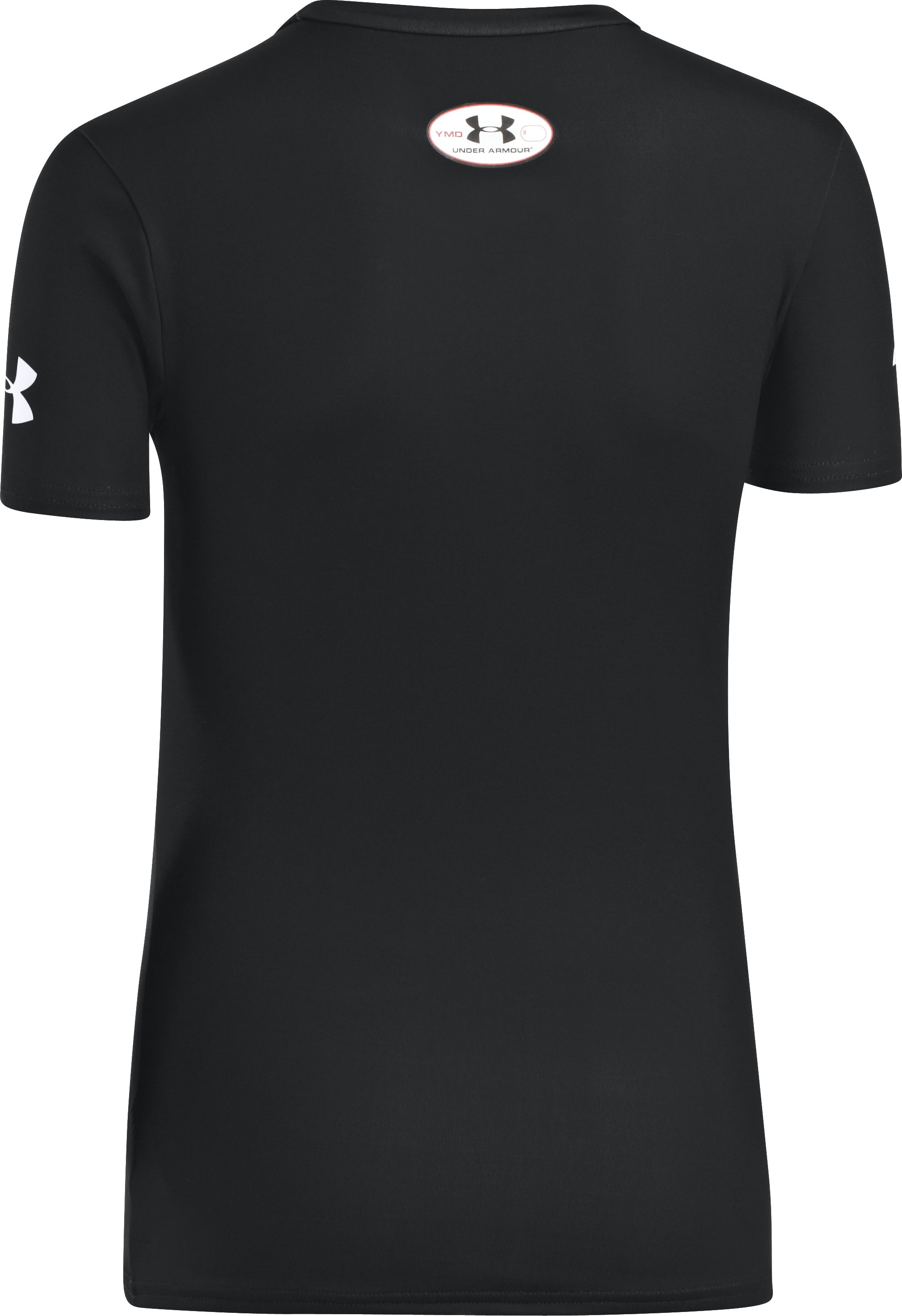Boys' Under Armour® Alter Ego Fitted Shirt, Black