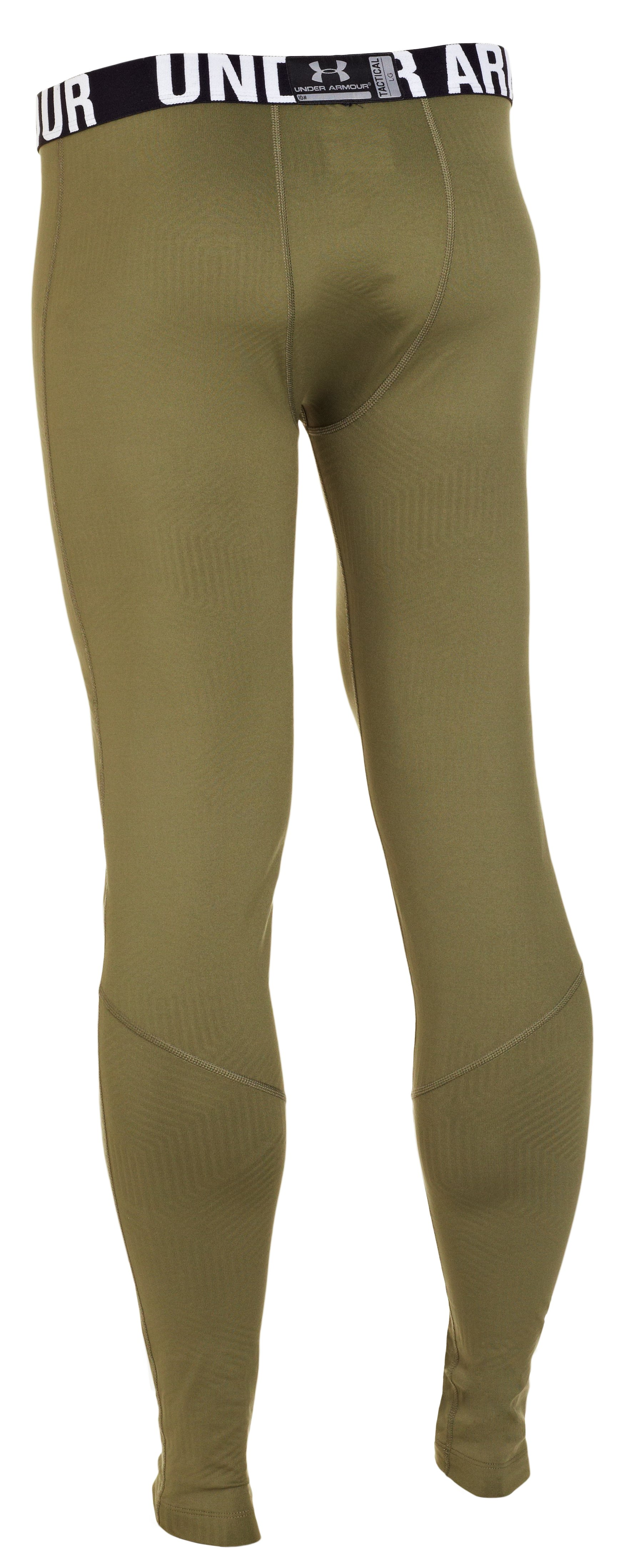 Men's ColdGear® Infrared Tactical Fitted Leggings, Marine OD Green