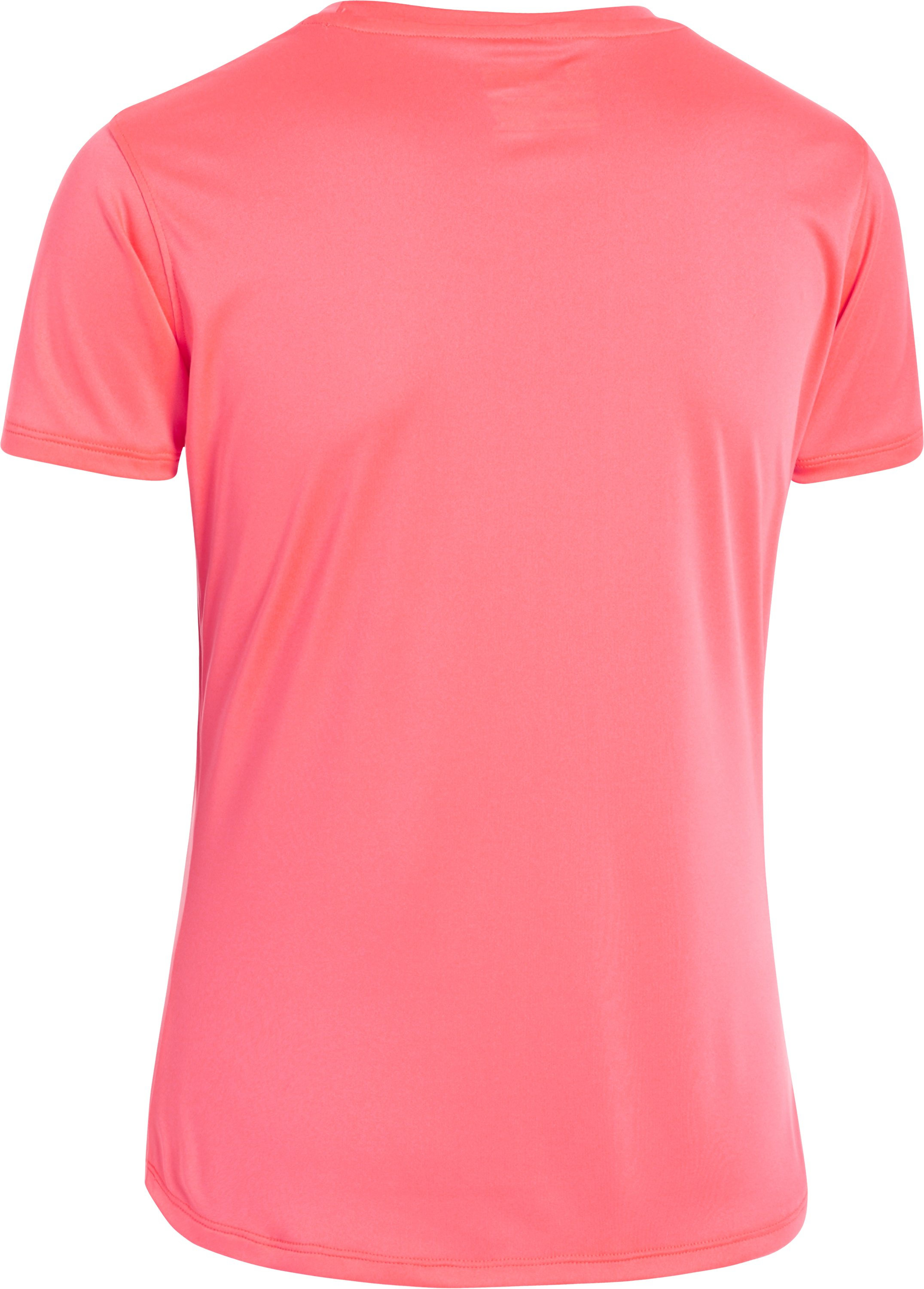 Girls' UA Secretsee Short Sleeve, BRILLIANCE