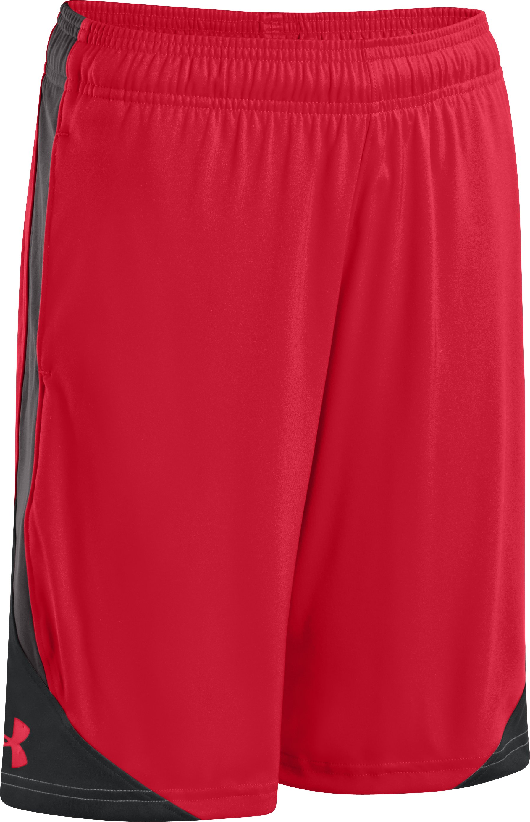 Boys' UA Extreme Shorts, Red