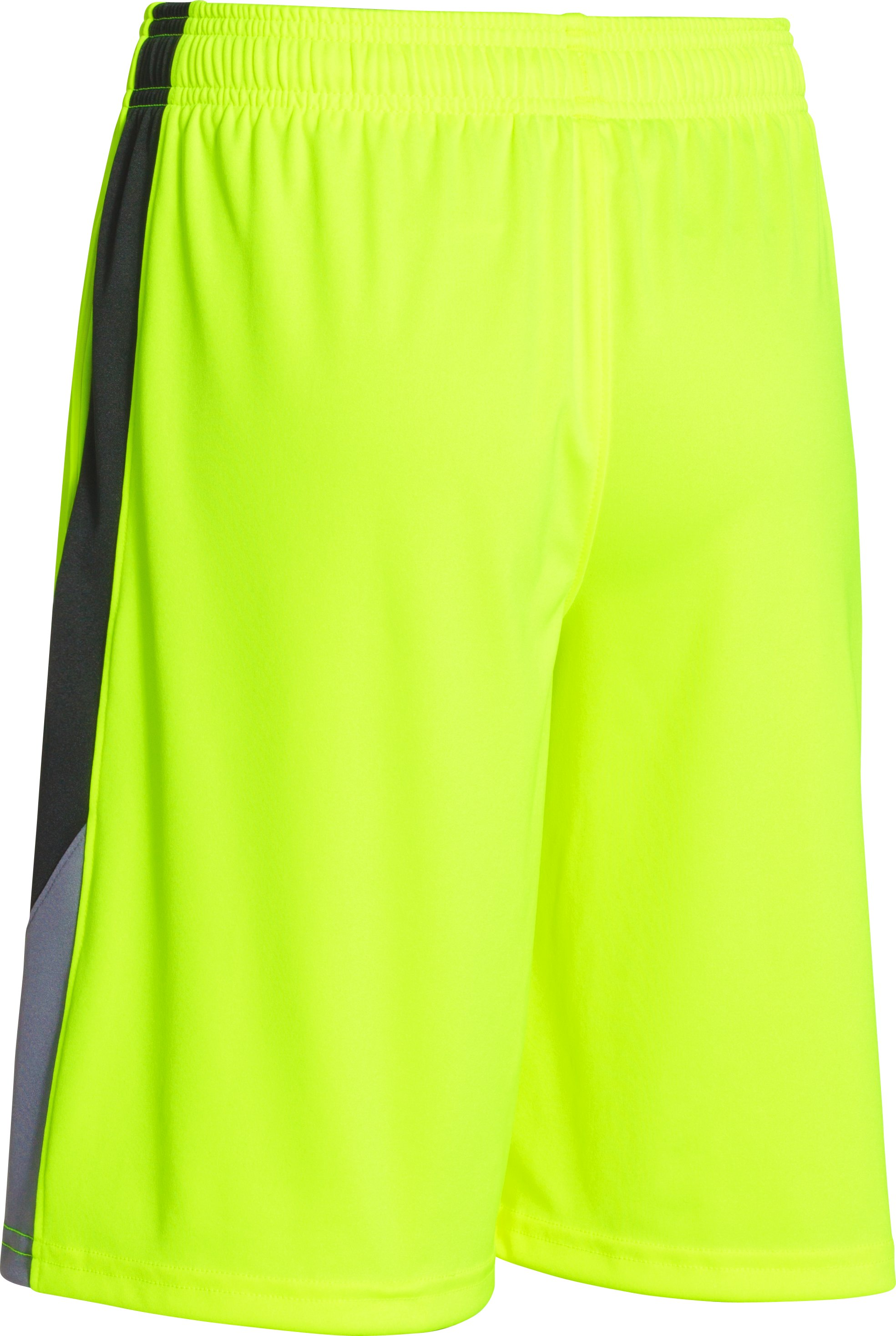 Boys' UA Extreme Shorts, High-Vis Yellow, undefined