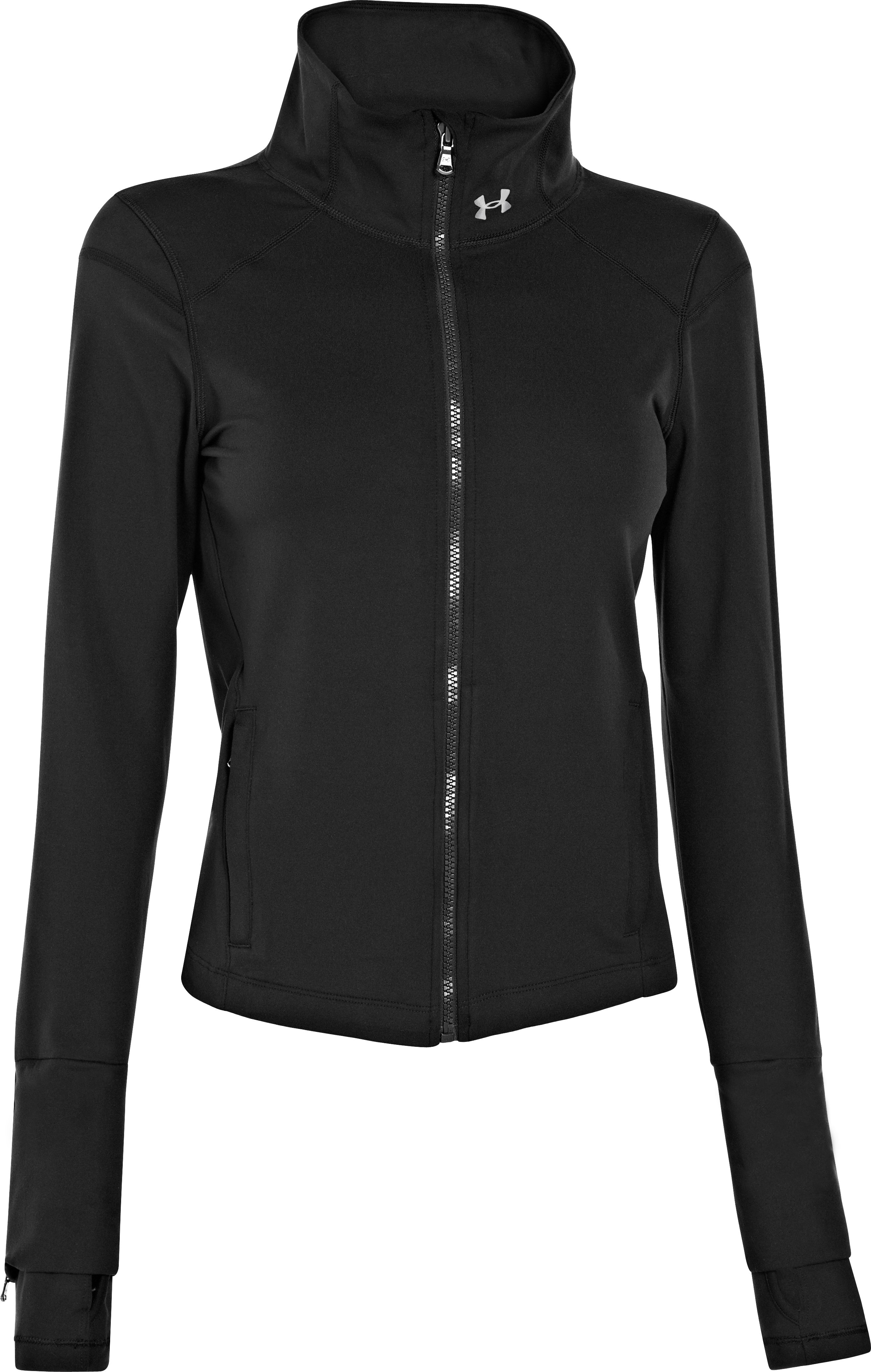 Women's UA StudioLux® Lite Essential Jacket, Black