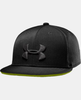 Boys' UA Huddle Snapback Flat Brim Cap  1 Color $19.99