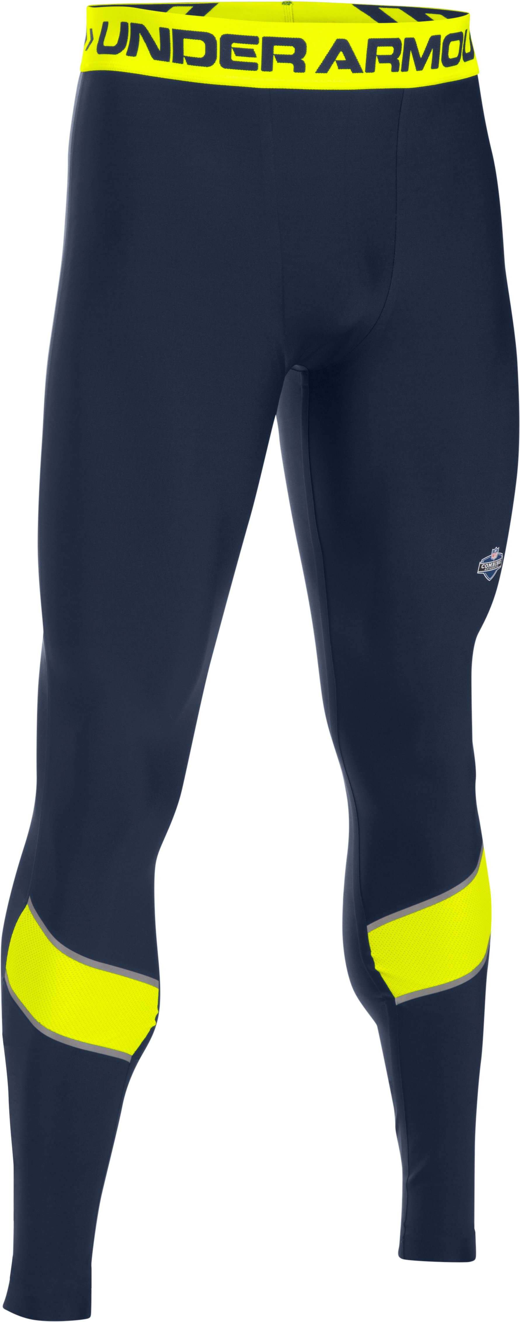 Men's NFL Combine Authentic Onfield Compression Leggings, Midnight Navy, undefined