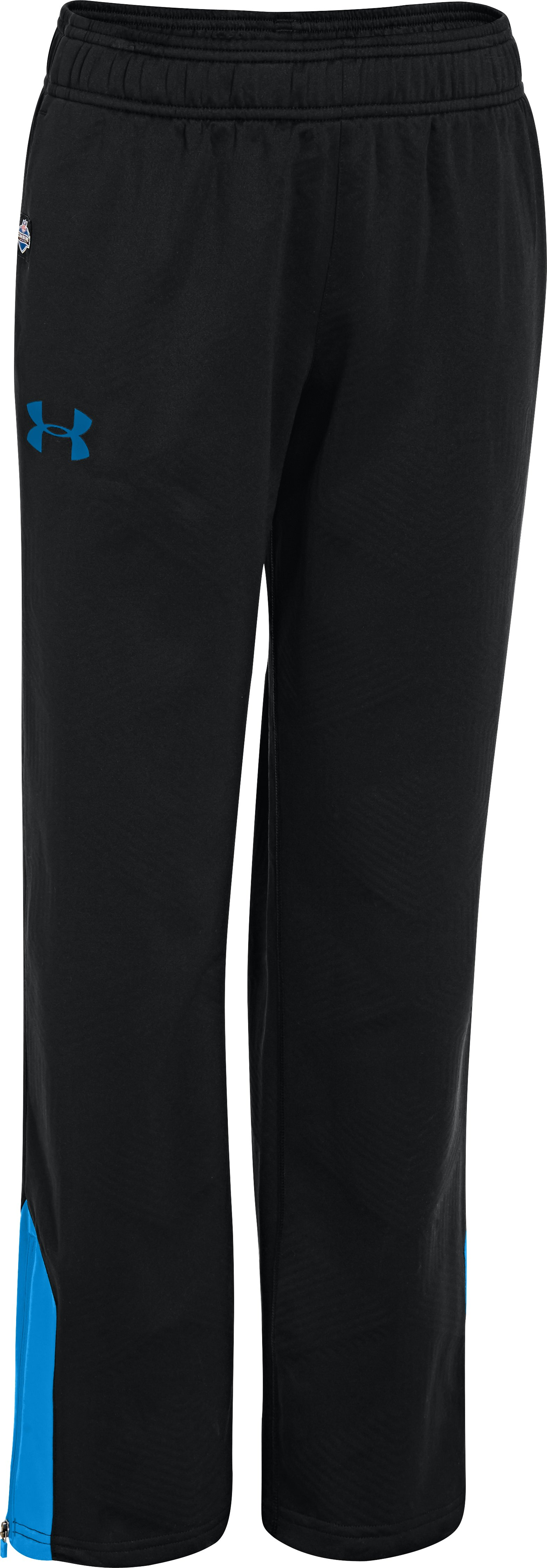Boys' NFL Combine Authentic ColdGear® Infrared Warm-Up Pants, Black , zoomed image