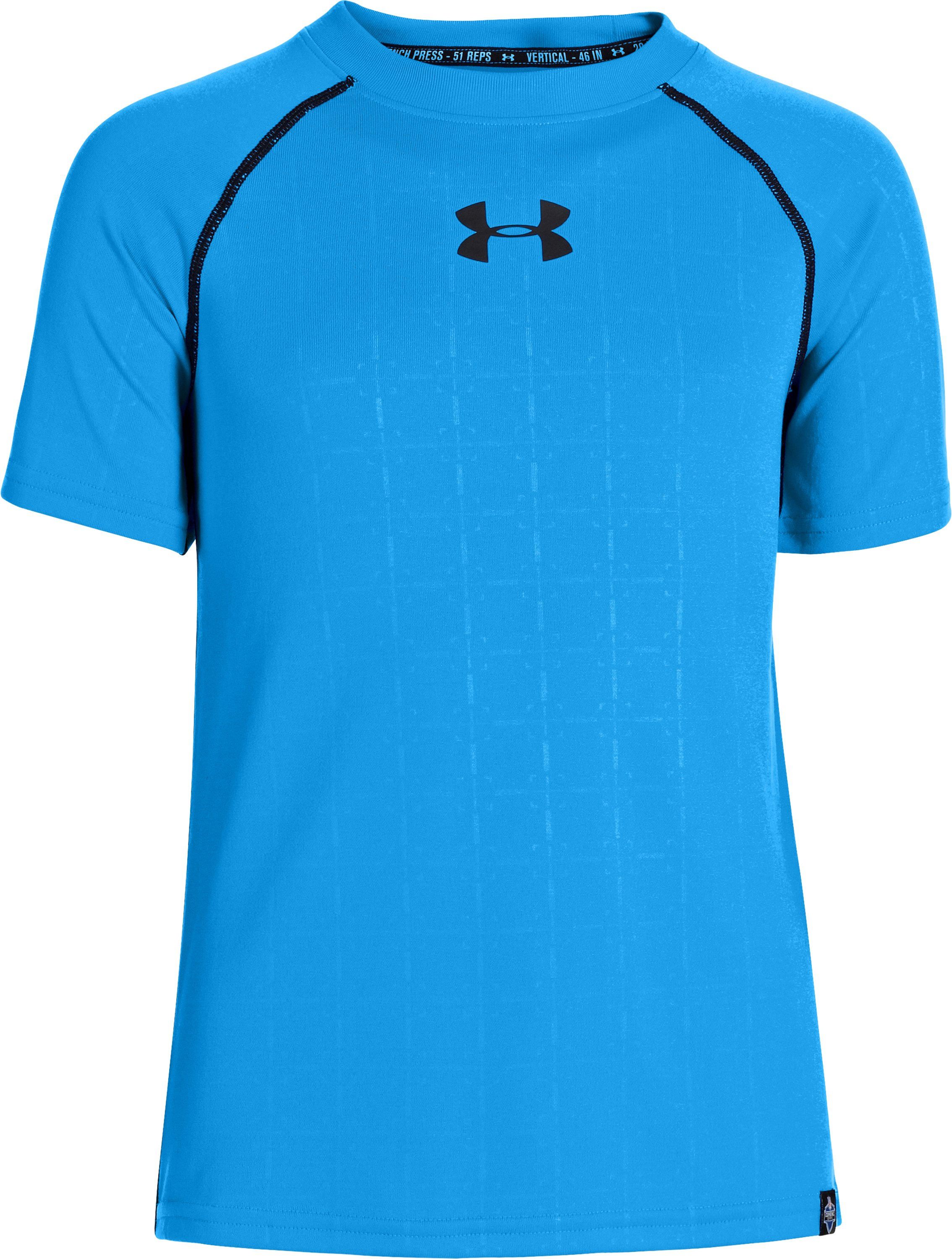 Boys' NFL Combine Authentic Training T-Shirt, ELECTRIC BLUE, zoomed image