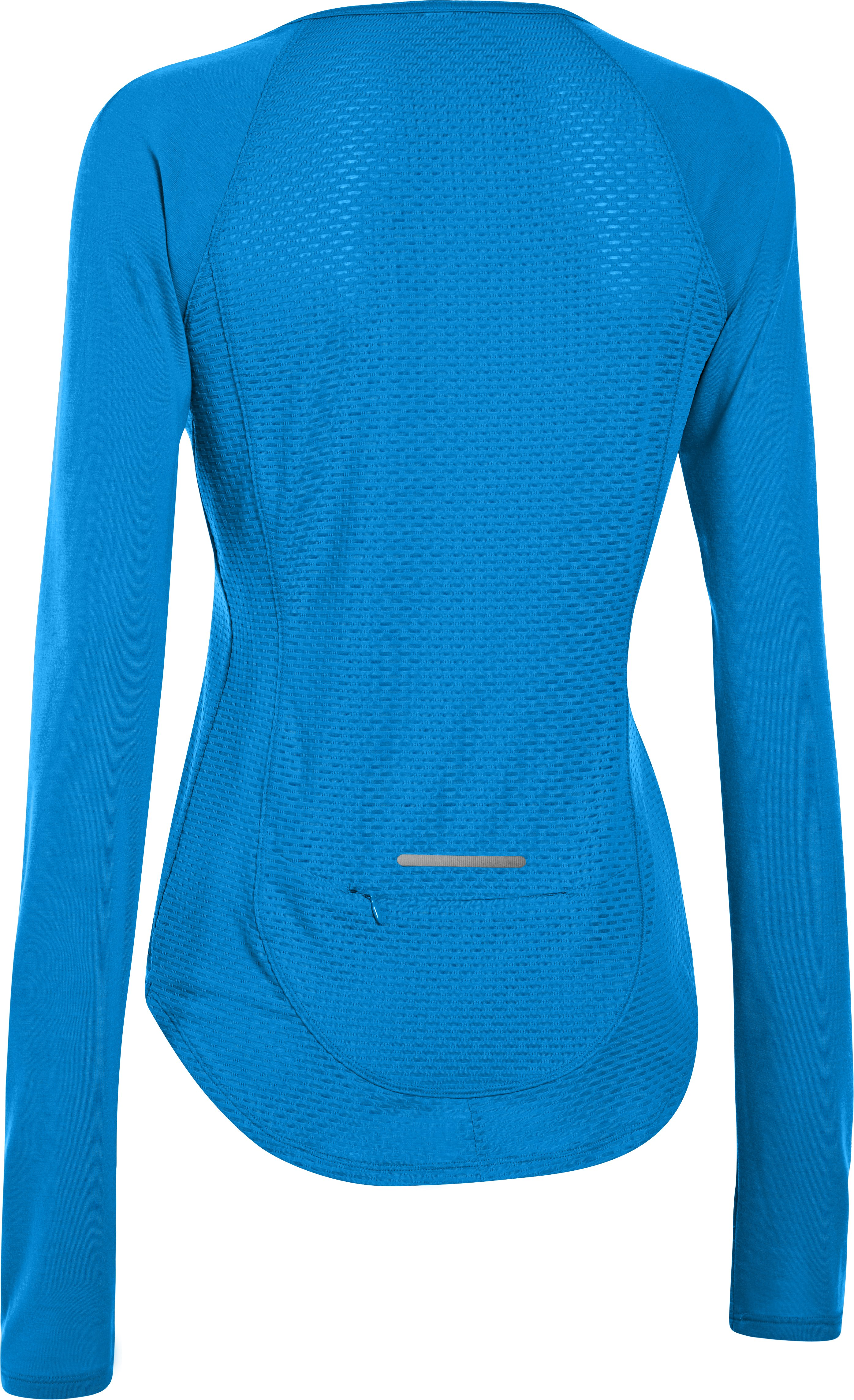 Women's UA Fly-By Long Sleeve, ELECTRIC BLUE