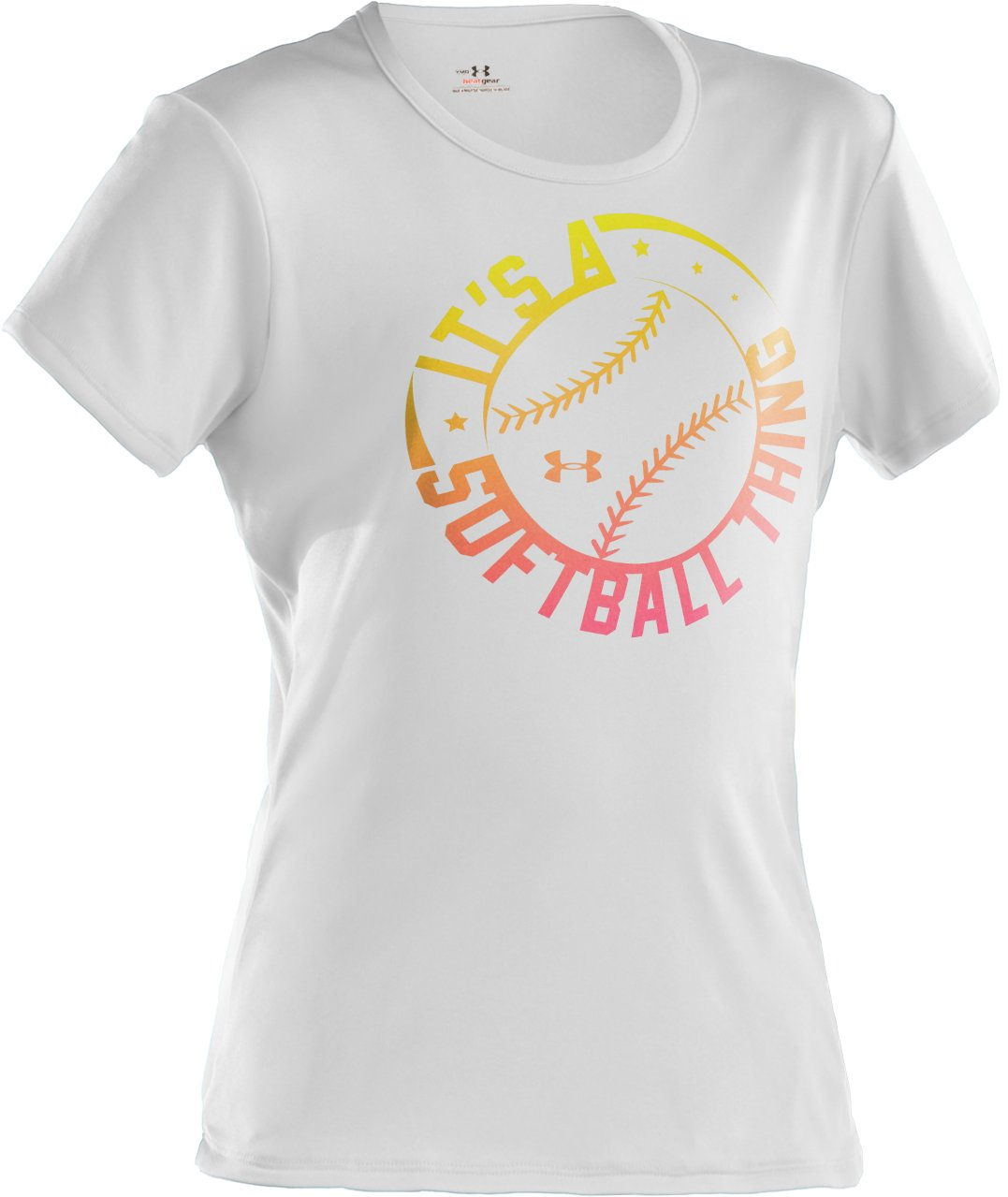 Girls' It's A Softball Thing Graphic T-Shirt, White