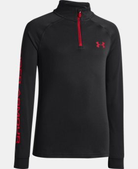 Boys' UA Tech™ ¼ Zip  2 Colors $25.99 to $26.99