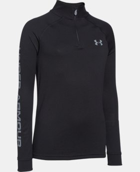 Boys' UA Tech™ ¼ Zip LIMITED TIME: FREE U.S. SHIPPING 3 Colors $25.99 to $26.99