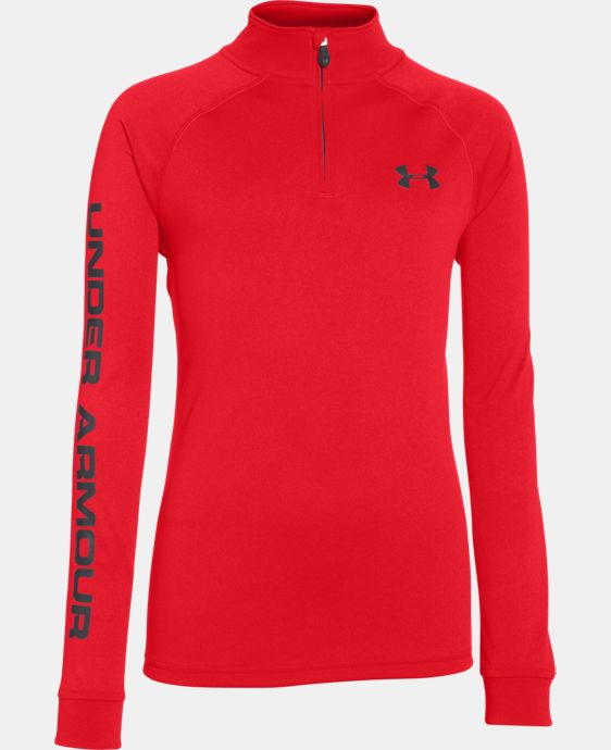 Boys' UA Tech™ ¼ Zip LIMITED TIME: FREE U.S. SHIPPING 1 Color $26.99