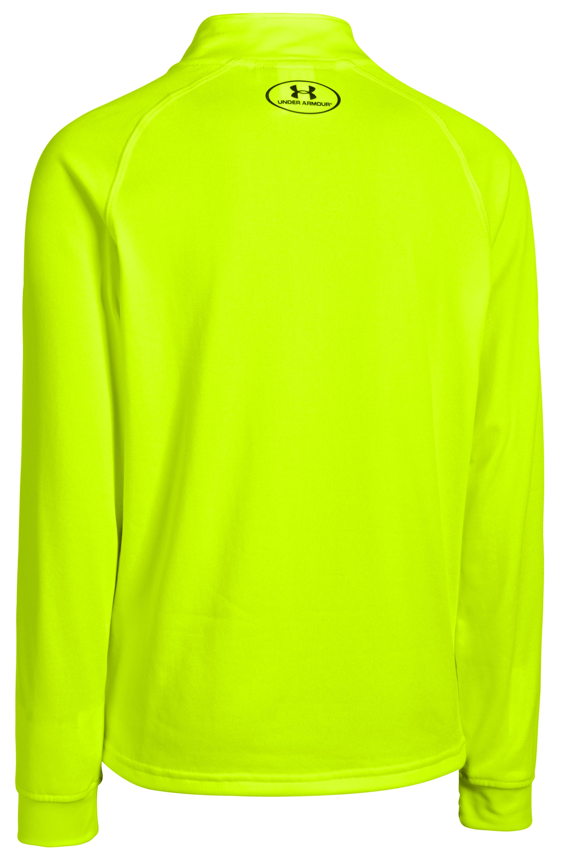Boys' UA Tech™ ¼ Zip, High-Vis Yellow
