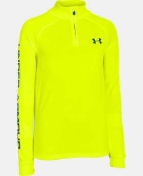 Boys' UA Tech™ ¼ Zip LIMITED TIME: FREE U.S. SHIPPING 1 Color $25.99 to $26.99