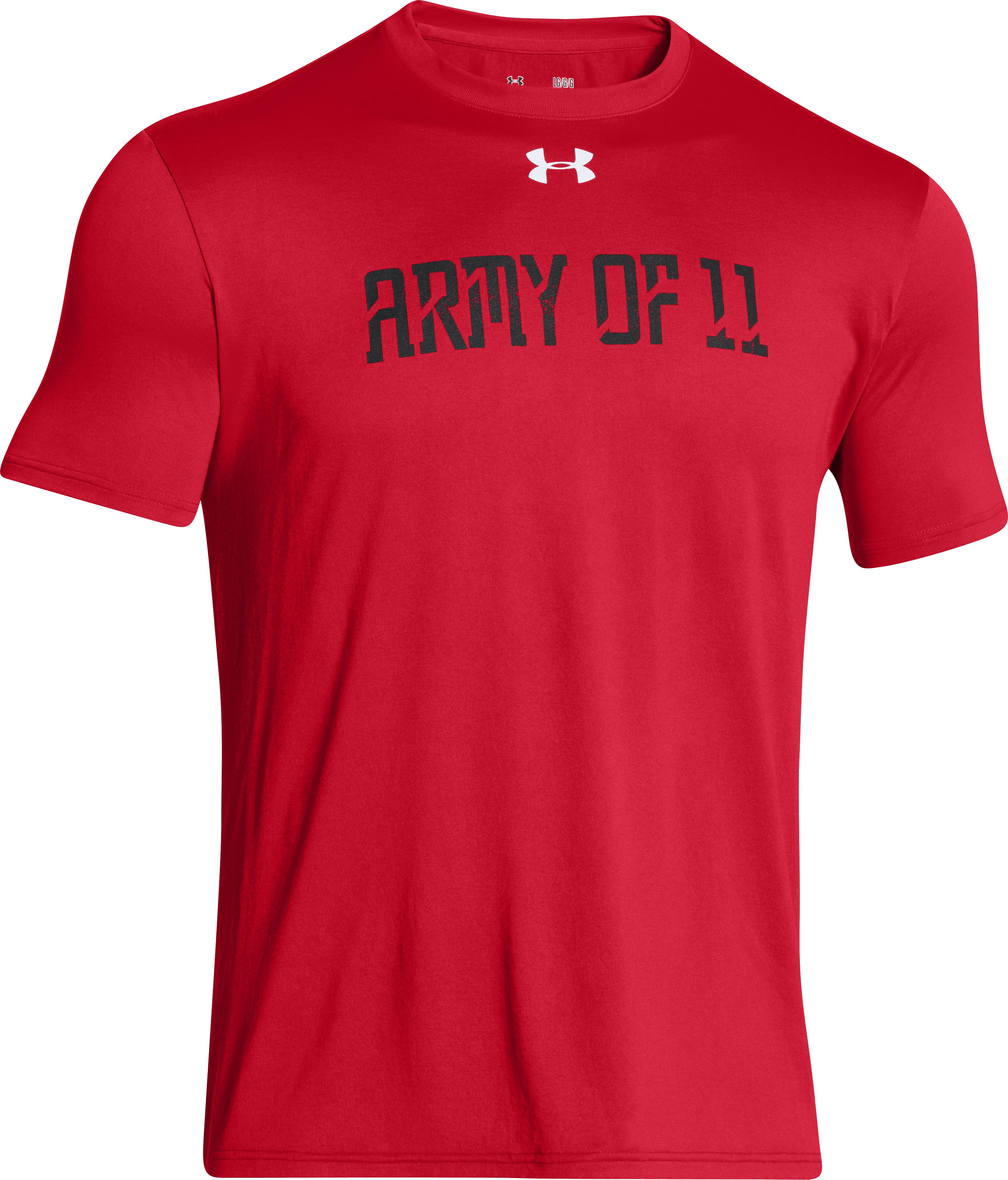 Men's UA Army Of 11 T-Shirt, Red
