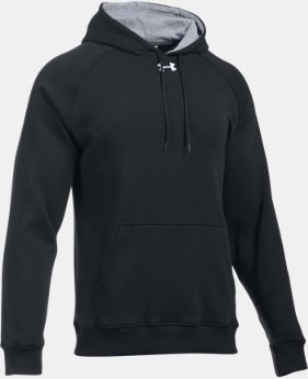 New Arrival  Men's UA Rival Fleece Team Hoodie   $44.99