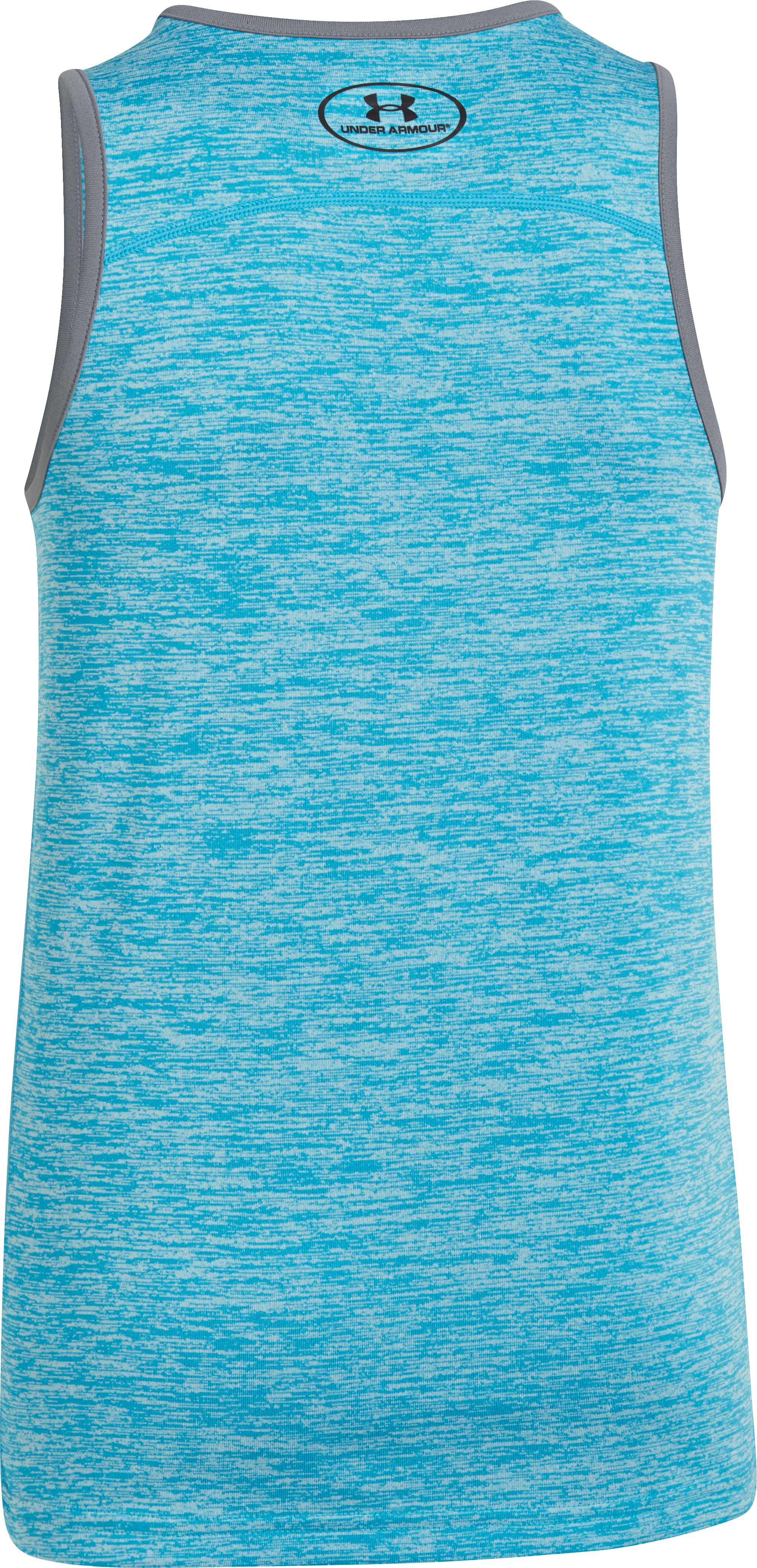 Boys' UA Tech™ Tank, PIRATE BLUE