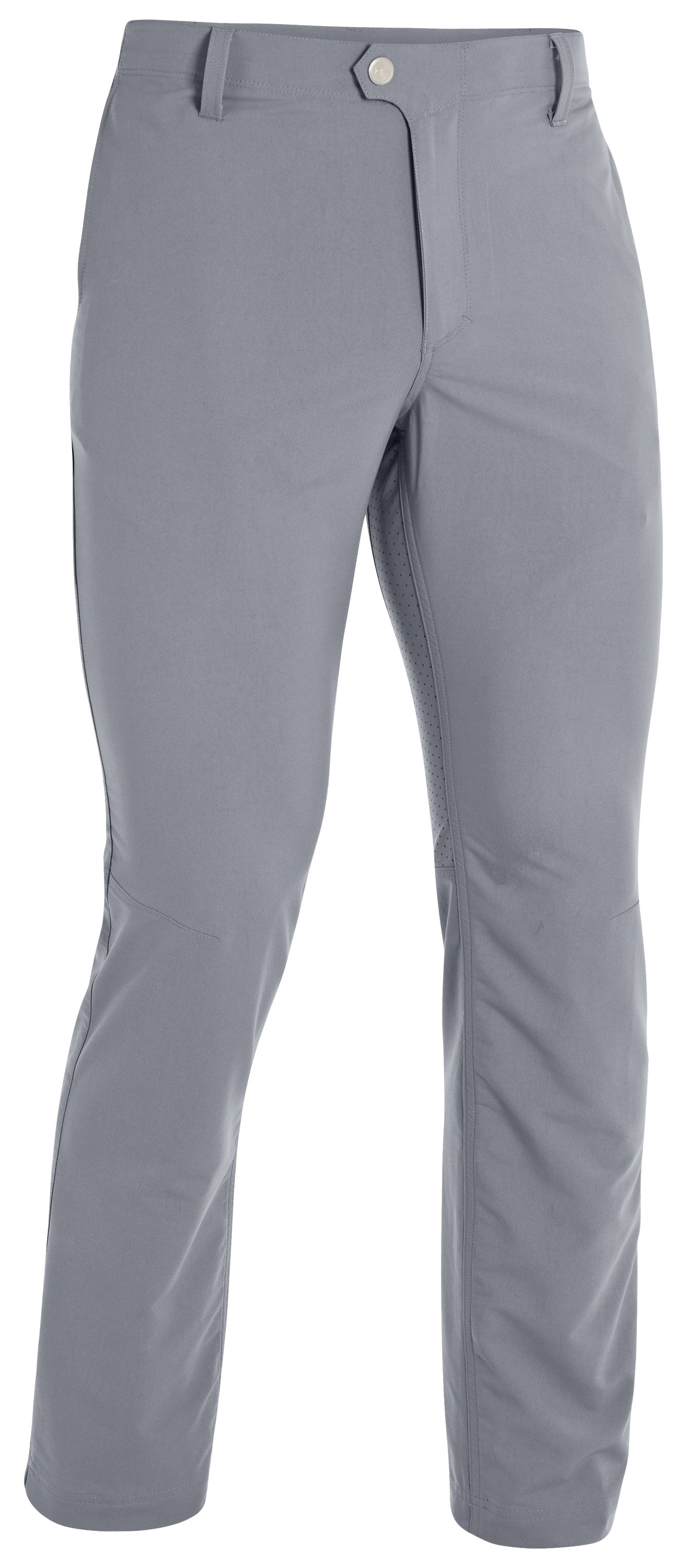 Men's UA Performance Twill Golf Pants, Steel