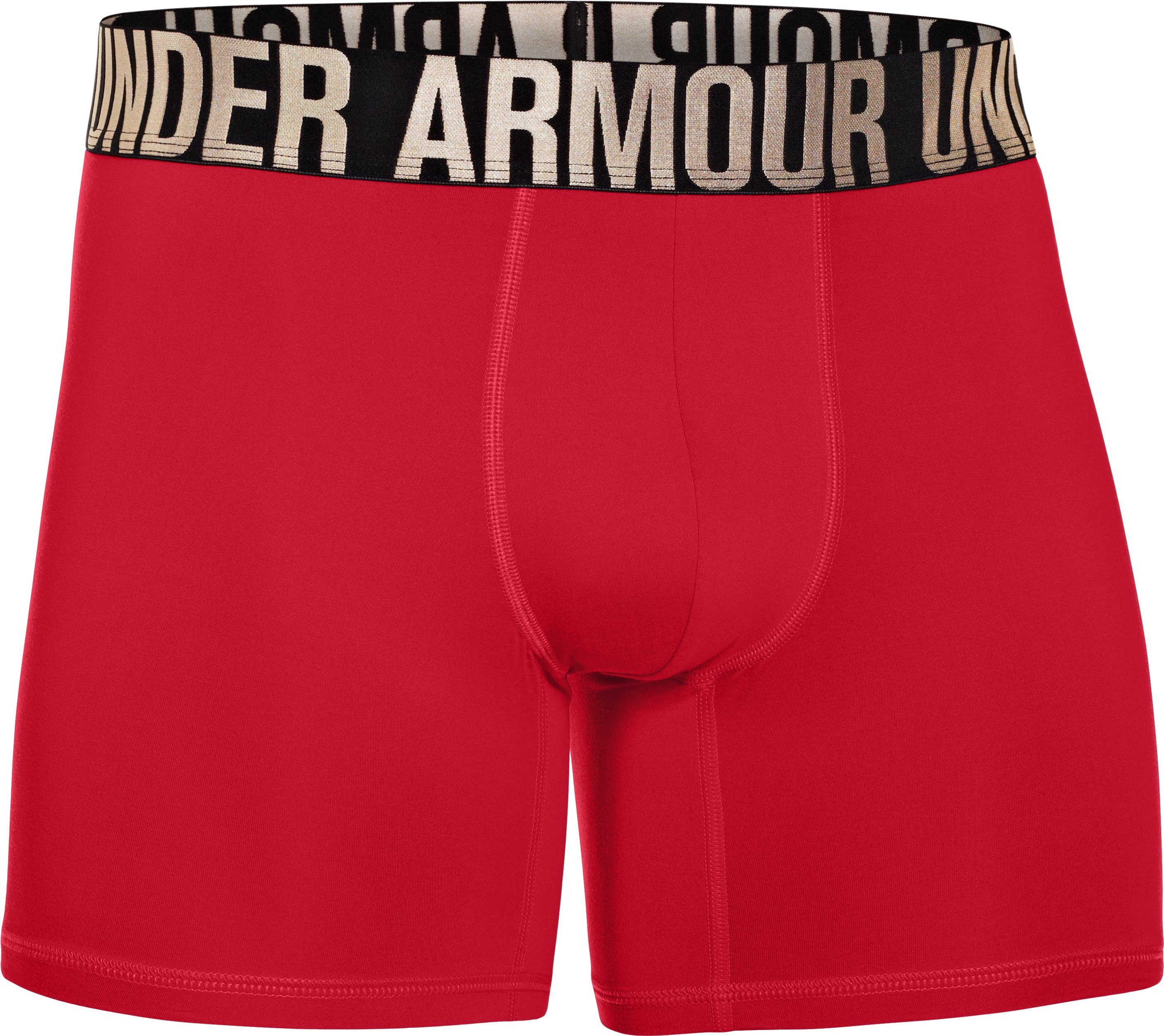"Men's UA Elite 6"" Boxerjock® Boxer Briefs, Red, undefined"