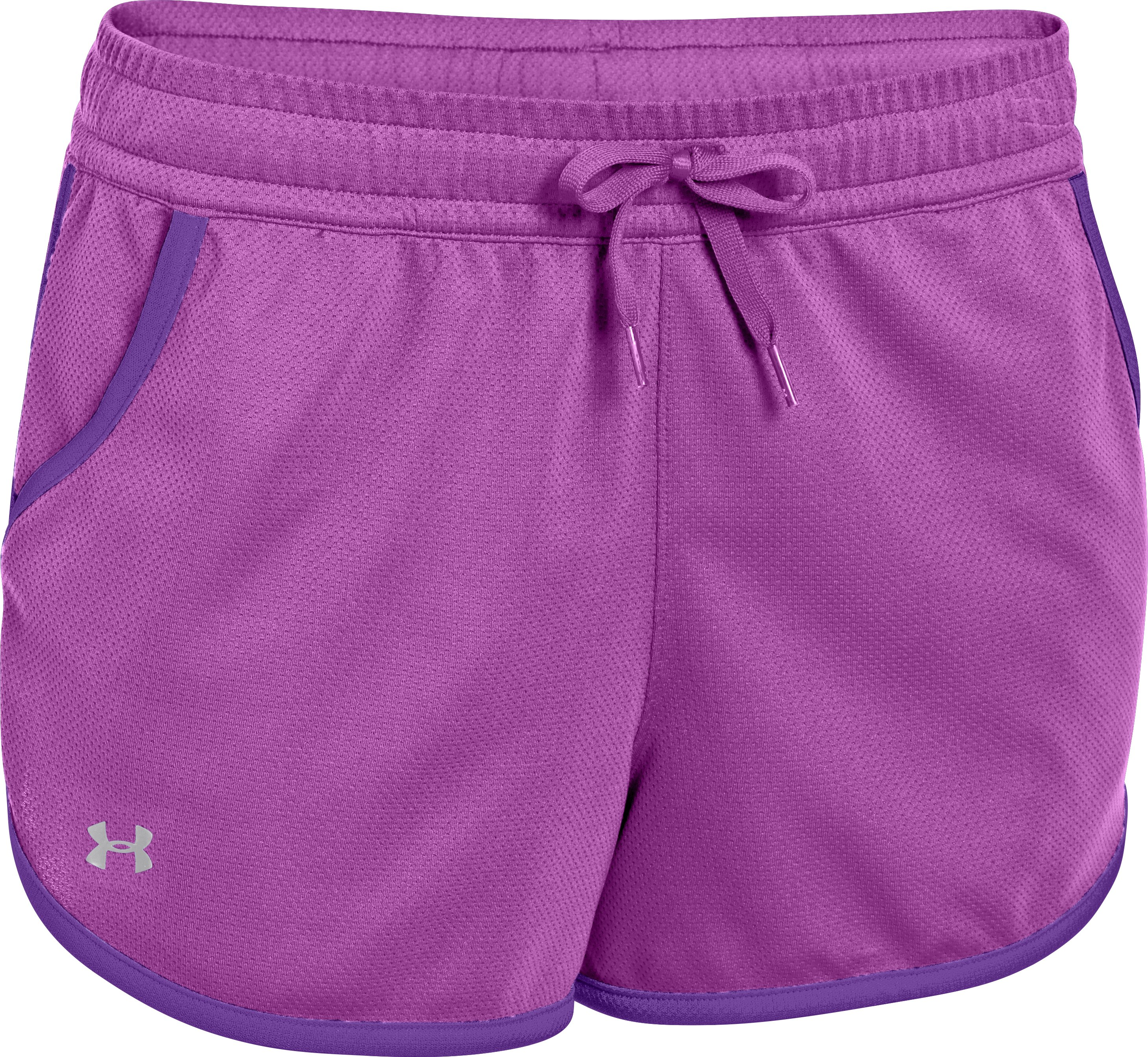 Women's UA Rally Shorts, EXOTIC BLOOM, undefined