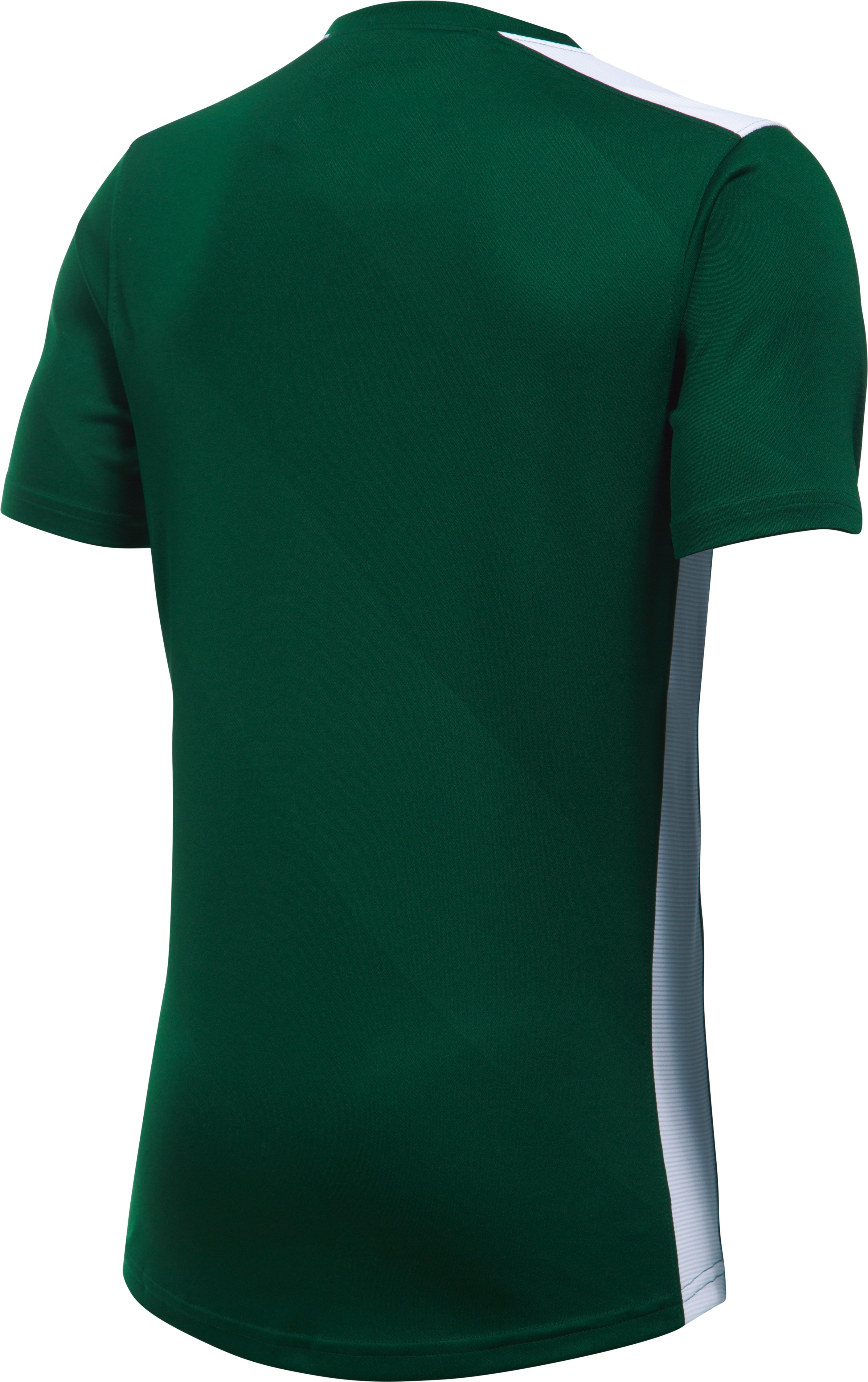 Boys' UA Fixture Soccer Jersey, Forest Green, undefined