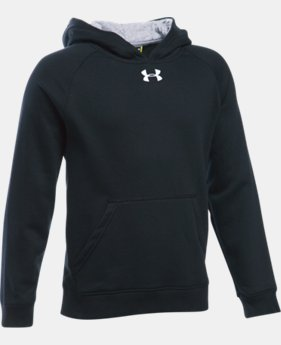 New Arrival  Boys' UA Every Team Fleece Hoodie LIMITED TIME: FREE SHIPPING 2 Colors $39.99