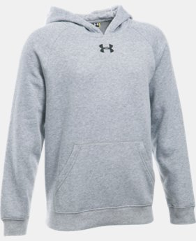 New Arrival  Boys' UA Every Team Fleece Hoodie  1 Color $39.99