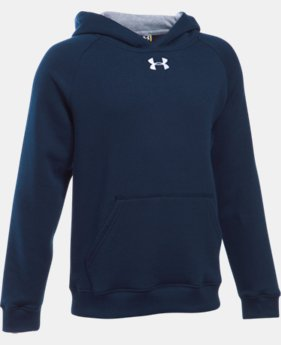 Boys' UA Every Team Fleece Hoodie LIMITED TIME: FREE U.S. SHIPPING 1 Color $34.99