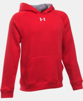 New Arrival  Boys' UA Every Team Fleece Hoodie LIMITED TIME: FREE SHIPPING 1 Color $39.99