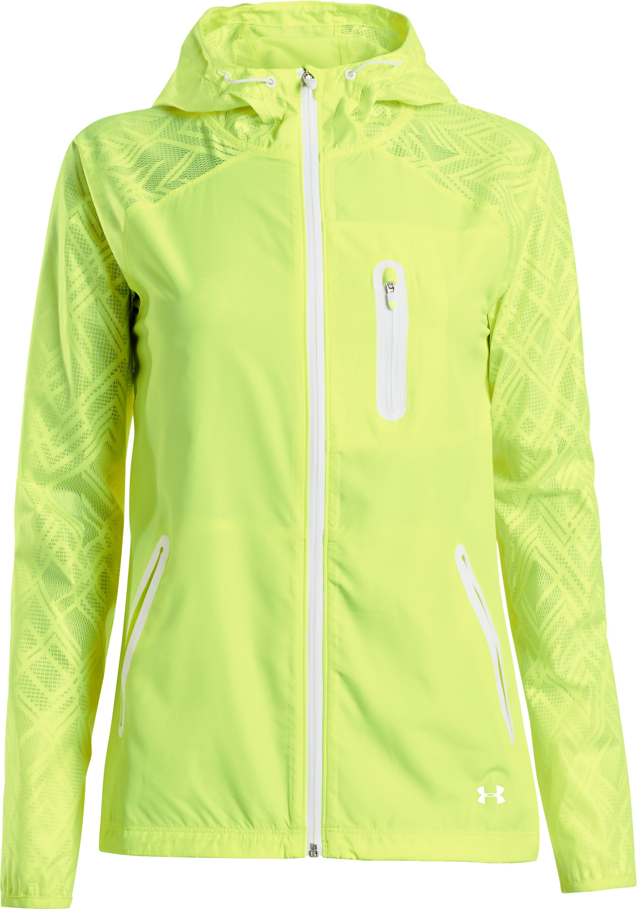 Women's UA Qualifier Lace Jacket, X-Ray