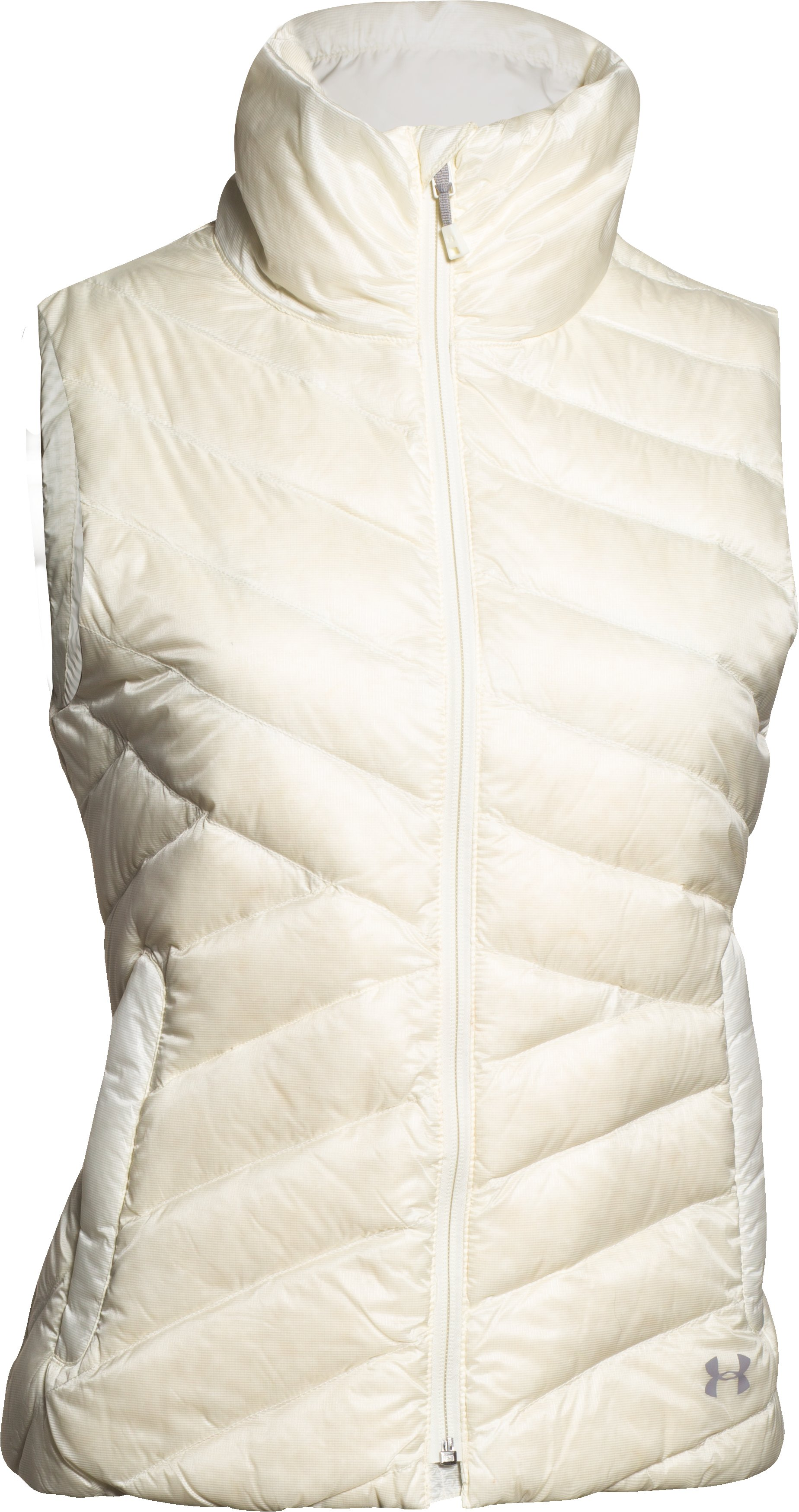 Women's UA ColdGear® Infrared Uptown Vest, Ivory, undefined