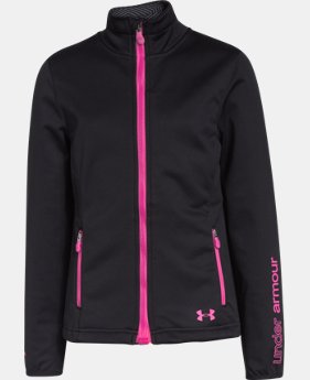 Girls' UA ColdGear® Infrared Softershell Jacket  2 Colors $54.99 to $59.99