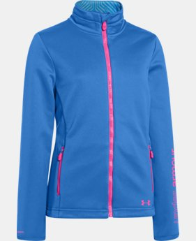 Girls' UA ColdGear® Infrared Softershell Jacket  2 Colors $59.99 to $74.99