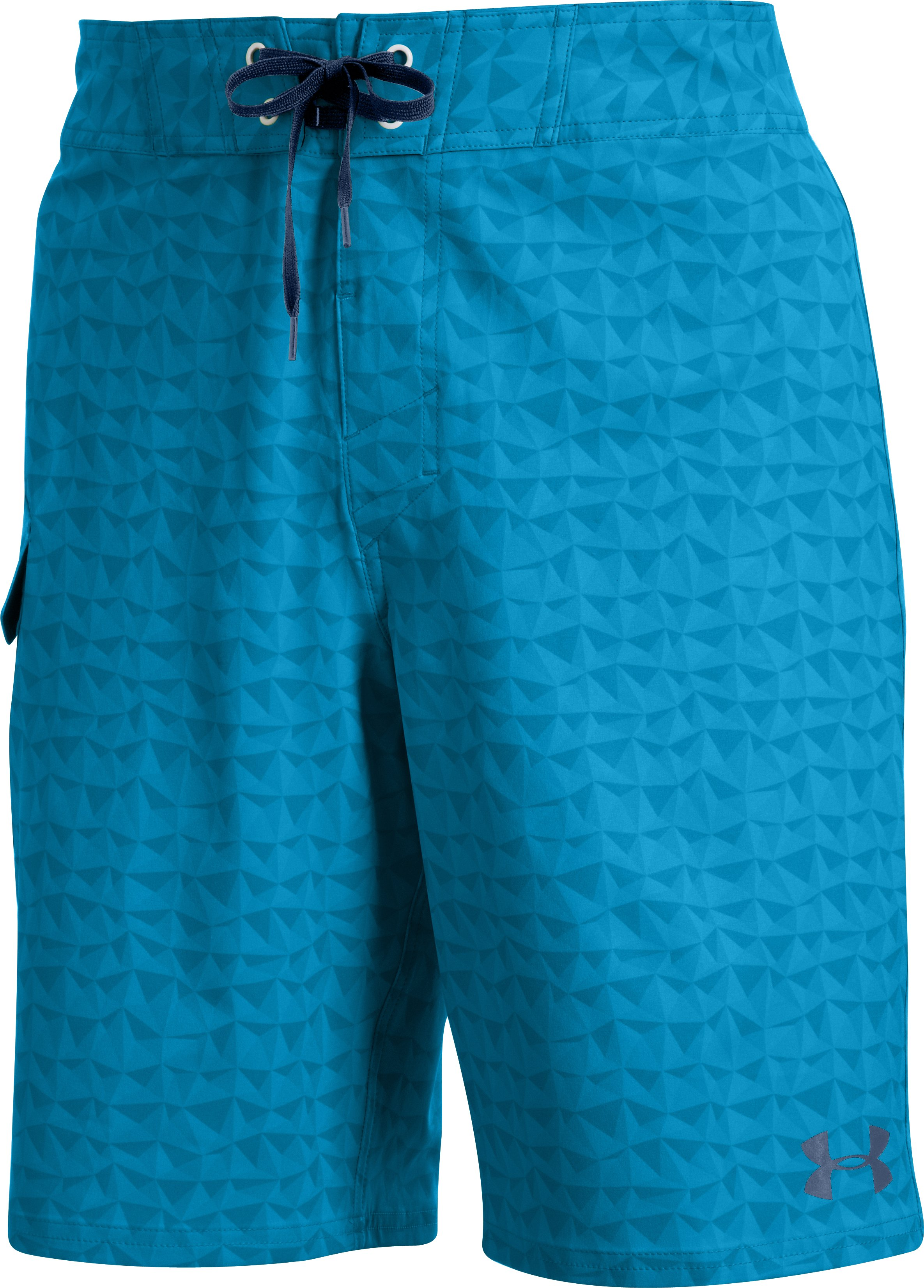 Men's UA Explorit Boardshorts, PIRATE BLUE, undefined