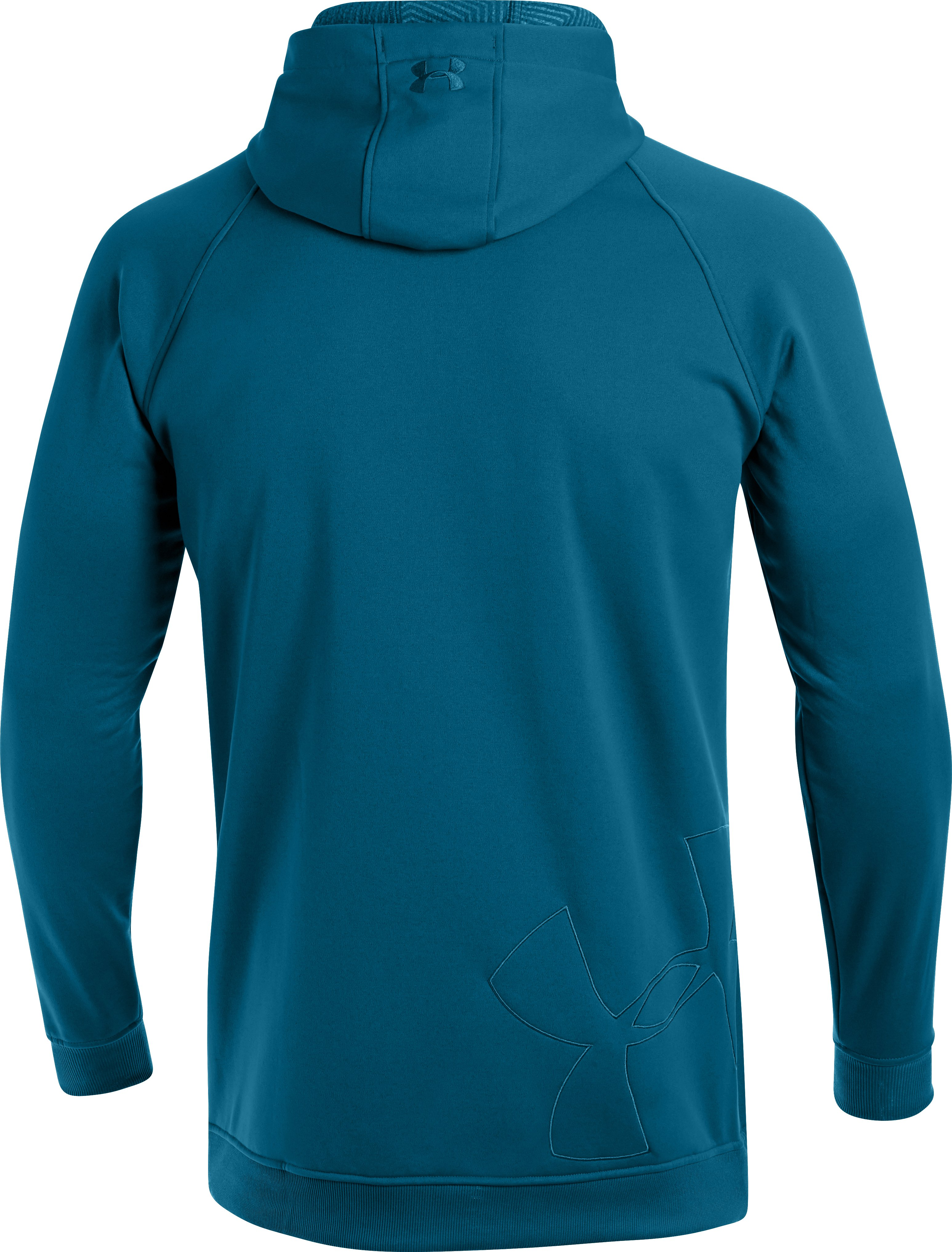 Men's UA Storm ColdGear® Infrared Freeway Hoodie, SAPPHIRE LAKE