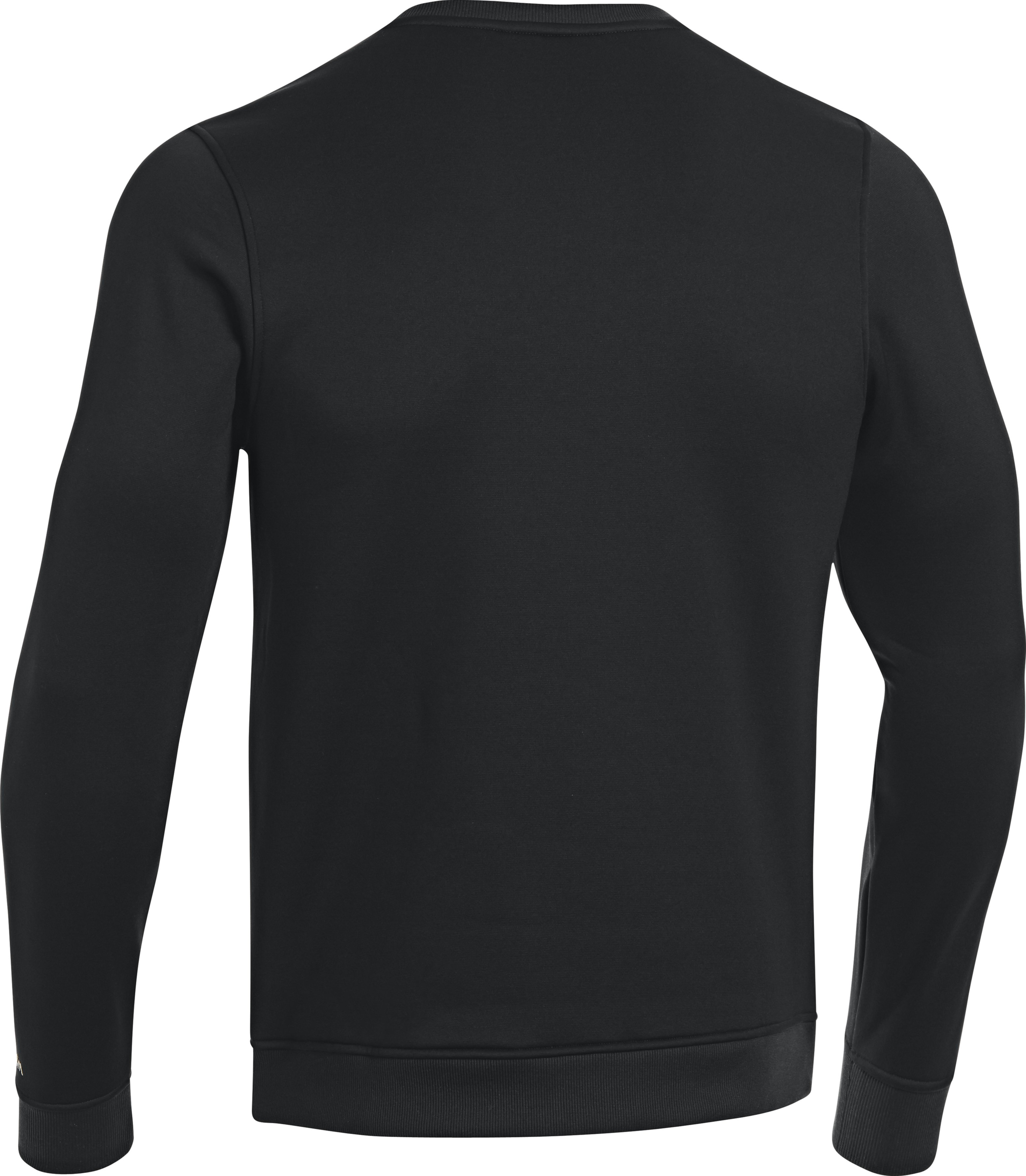 Men's UA Storm Armour® Fleece Overline Crew, Black