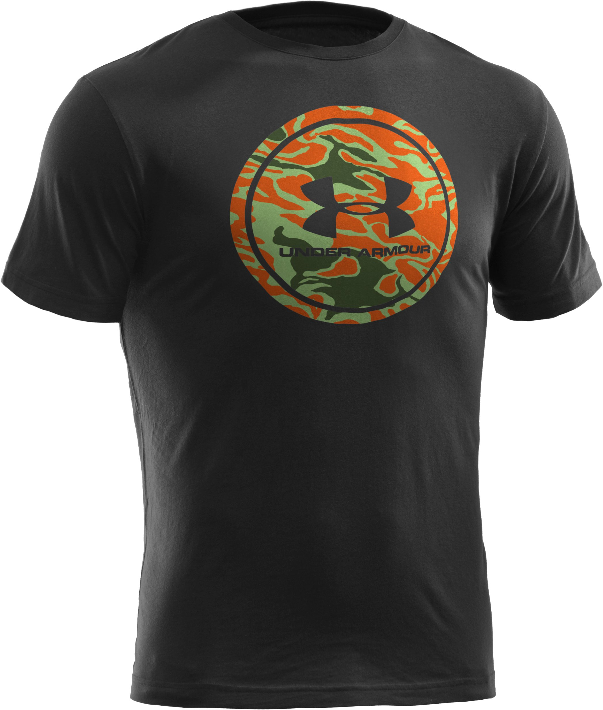 Men's UA Camo Seal T-Shirt, Black