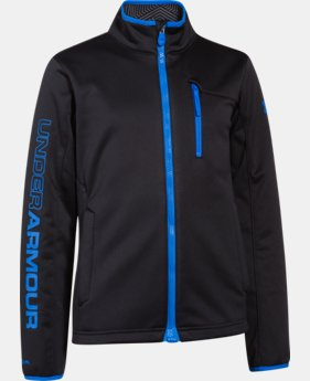 Boys' UA Storm ColdGear® Infrared Softershell Jacket  1 Color $59.99