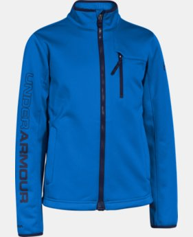 Boys' UA Storm ColdGear® Infrared Softershell Jacket LIMITED TIME: FREE U.S. SHIPPING 2 Colors $56.24 to $59.99