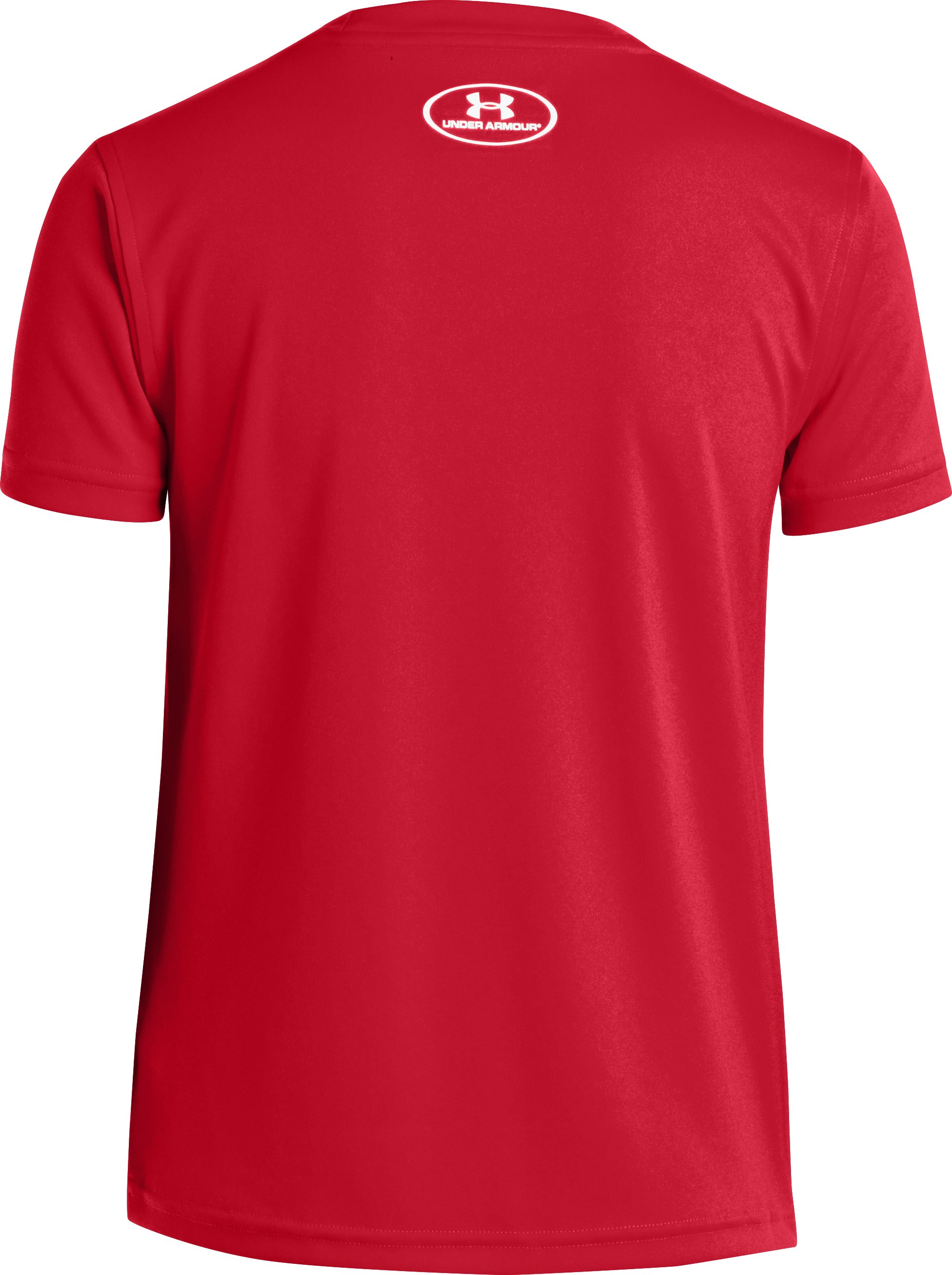 Boys' UA Show Me Sweat Graphic T-Shirt, Red
