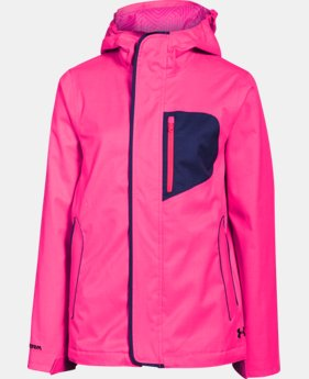 Girls' UA ColdGear® Infrared Gemma 3-In-1 Jacket
