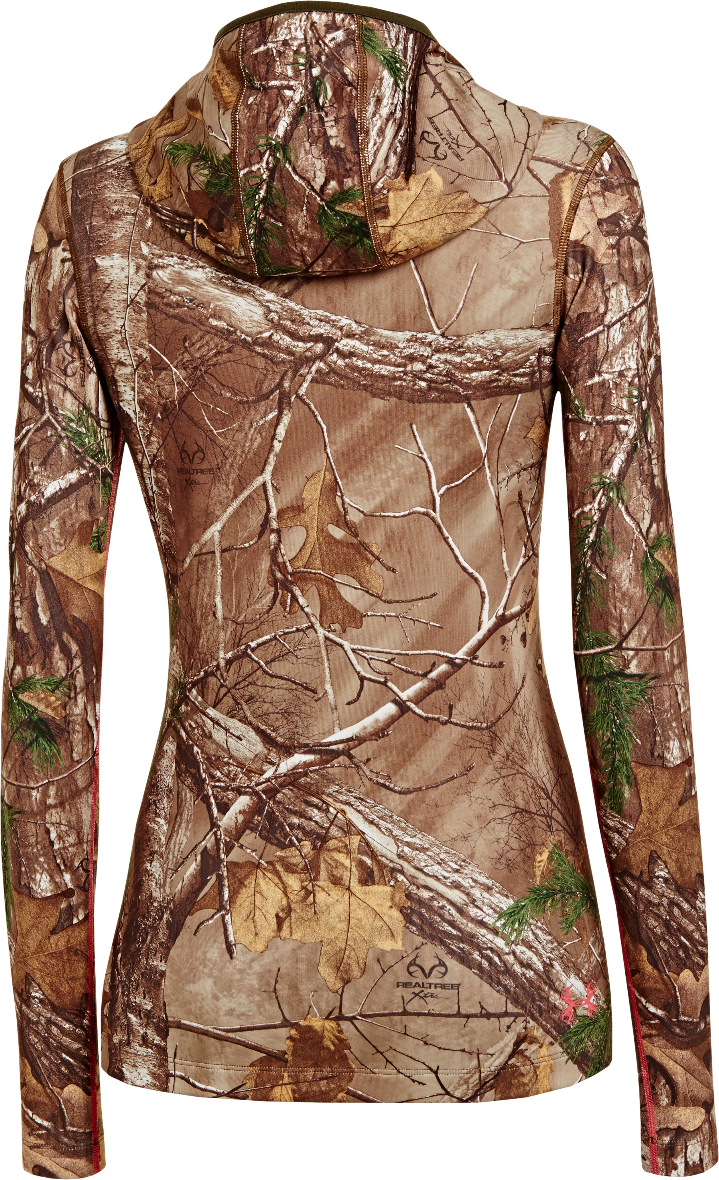 Women's ColdGear® Infrared EVO Hoodie, REALTREE AP-XTRA