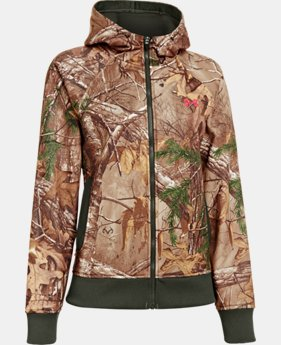 Women's  UA Camo Full-Zip Hoodie  1 Color $63.99
