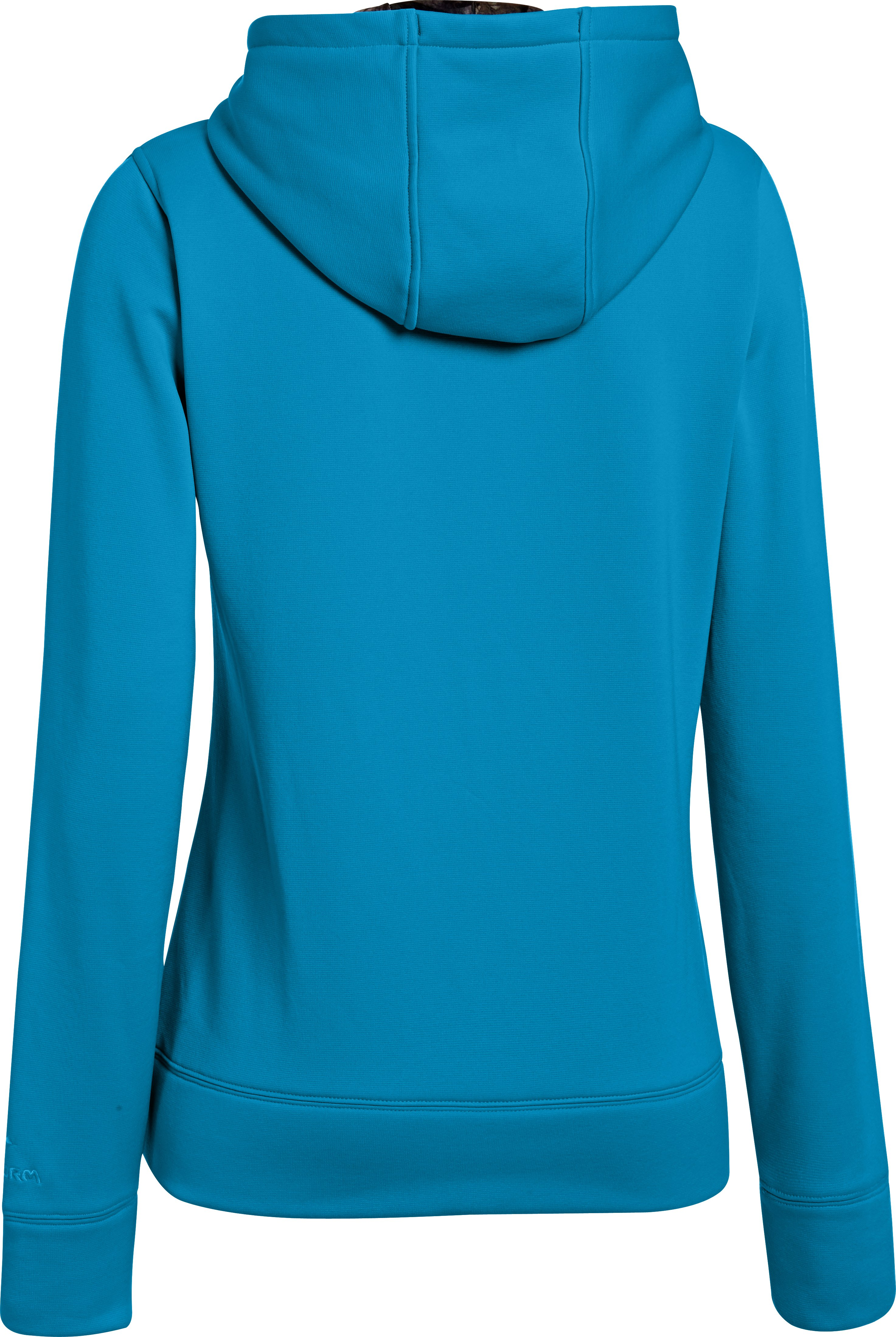 Women's UA Storm Caliber Hoodie, PIRATE BLUE