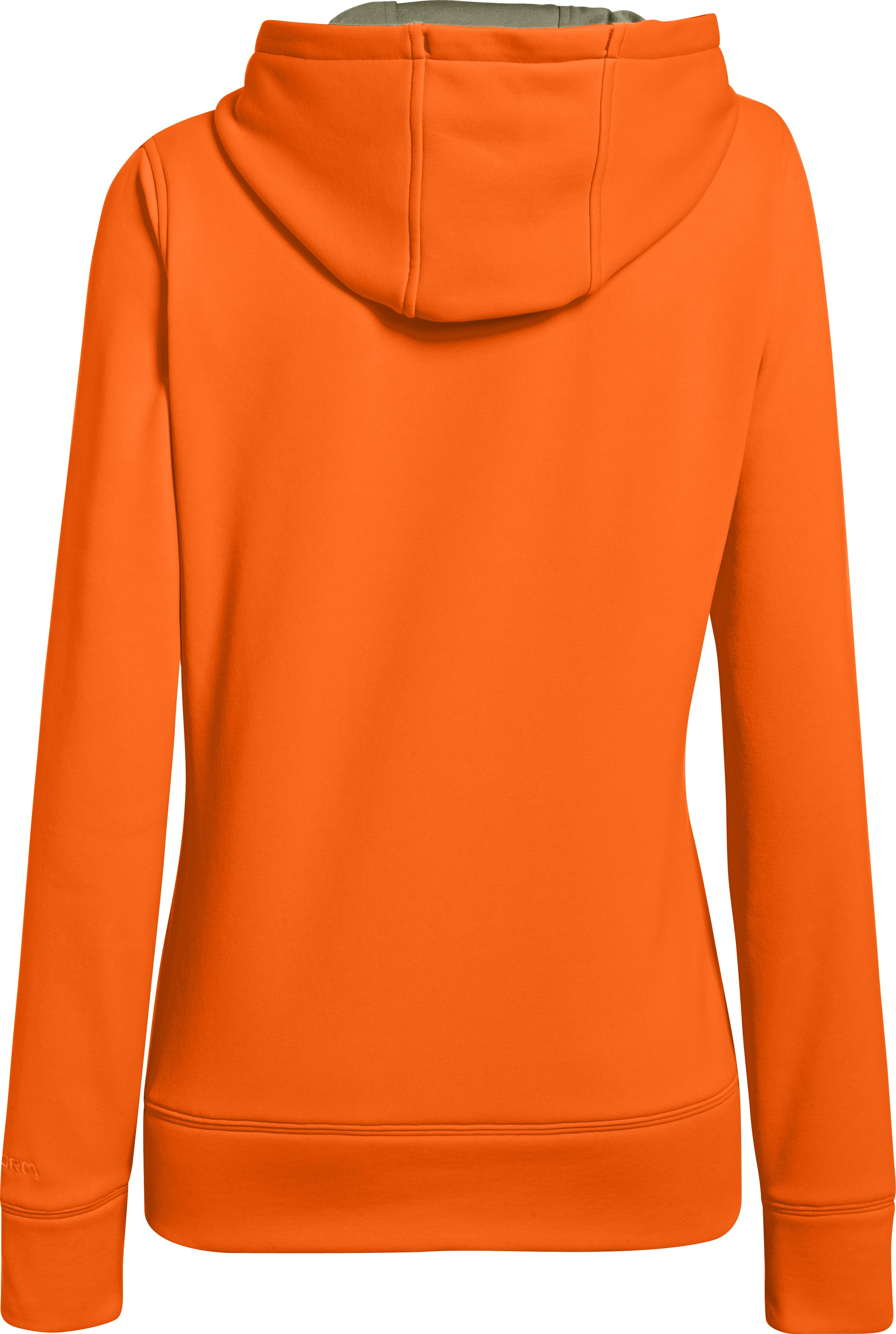 Women's UA Storm Caliber Hoodie, Blaze Orange