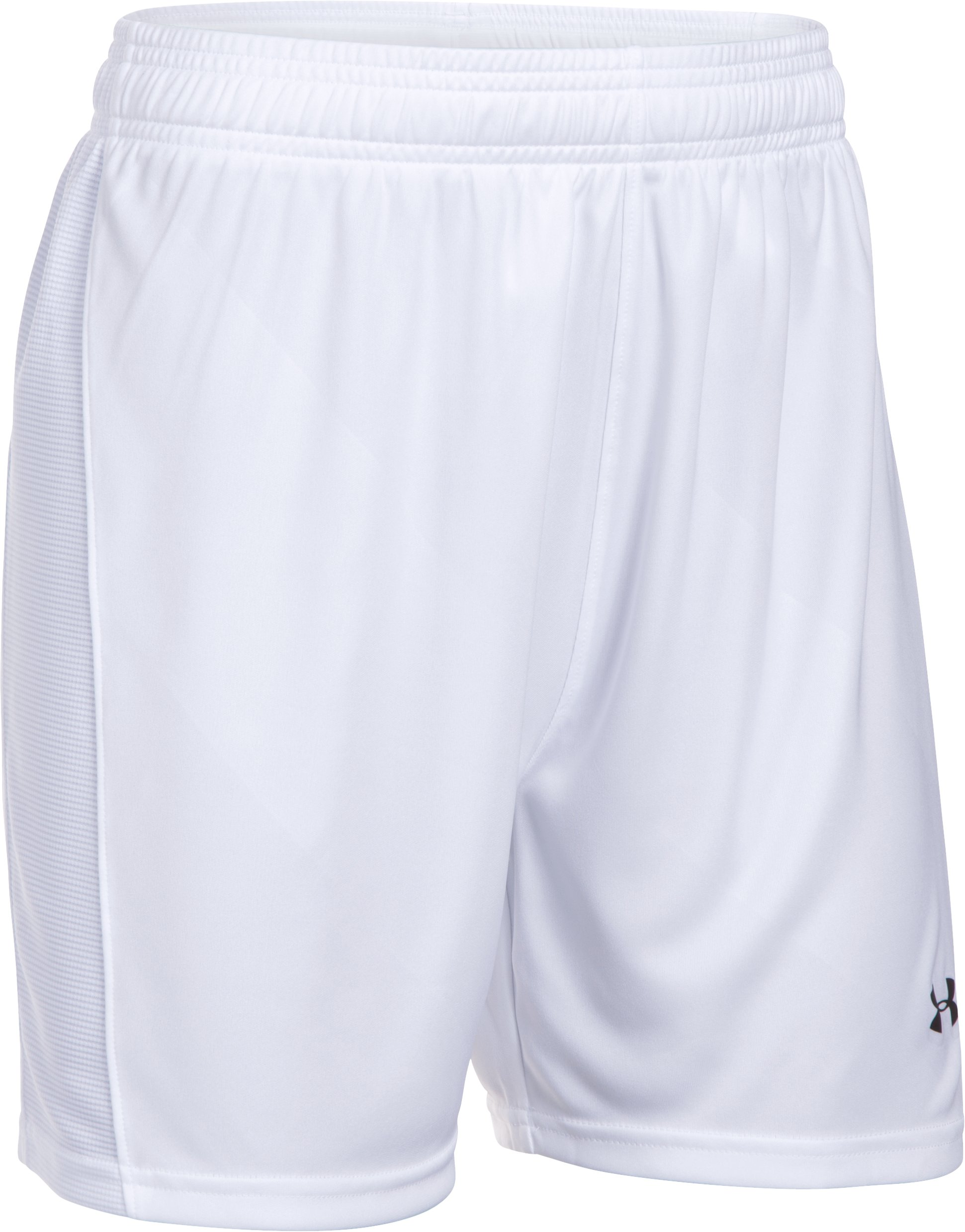 Women's UA Fixture Shorts, White,