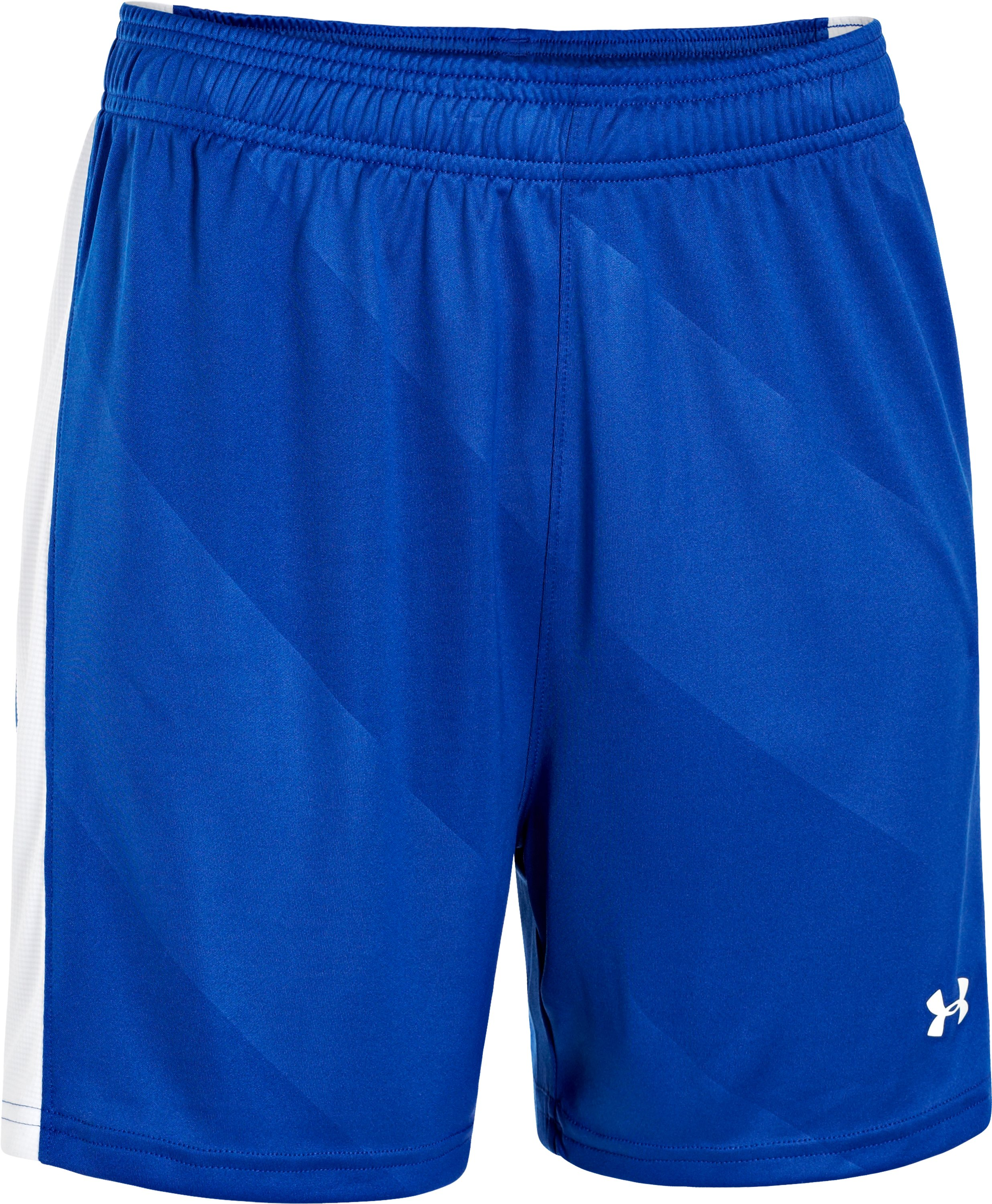 Women's UA Fixture Shorts, Royal