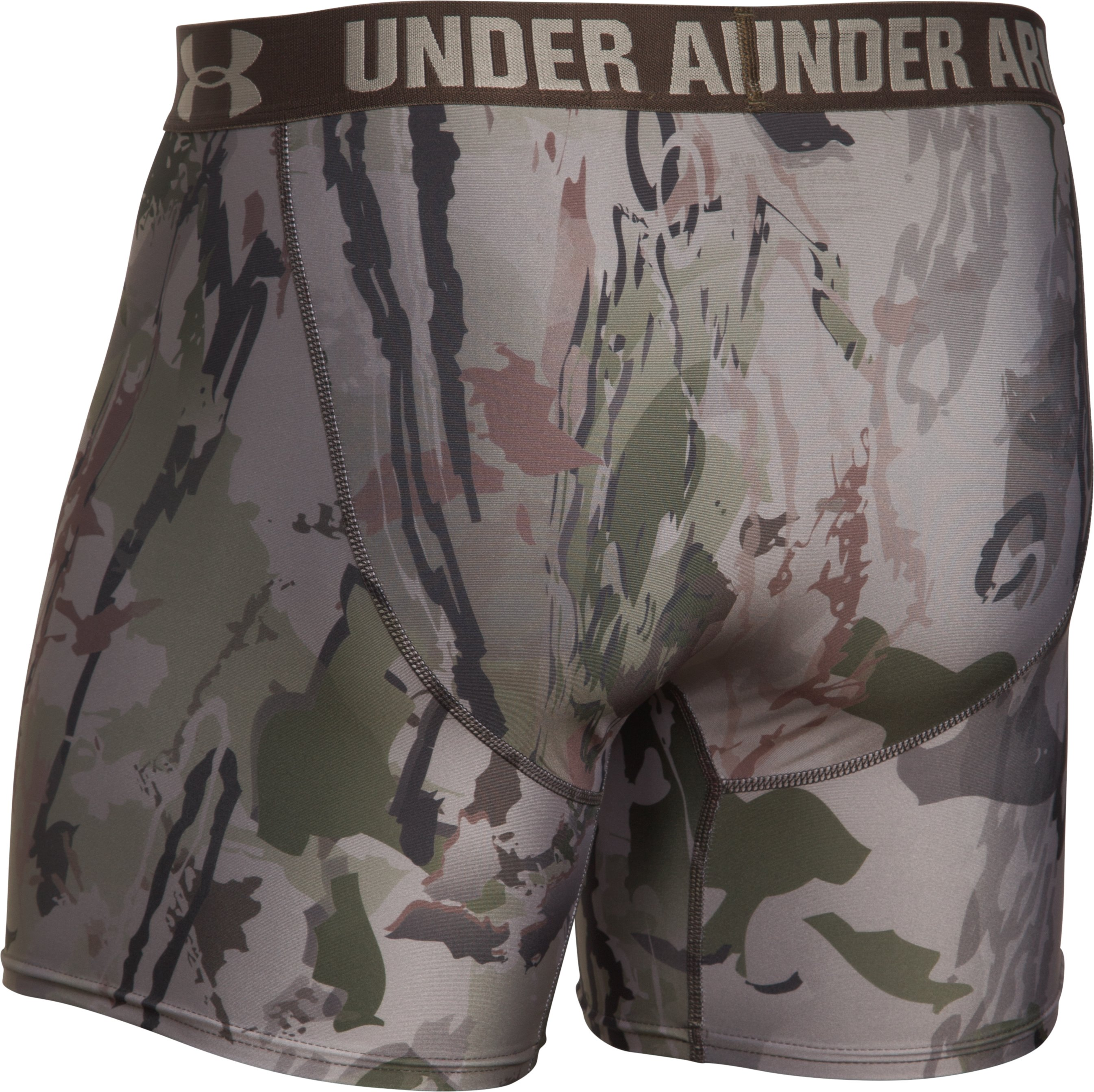 Men's UA Camo Boxerjock® Boxer Briefs, RIDGE REAPER® BARREN, undefined