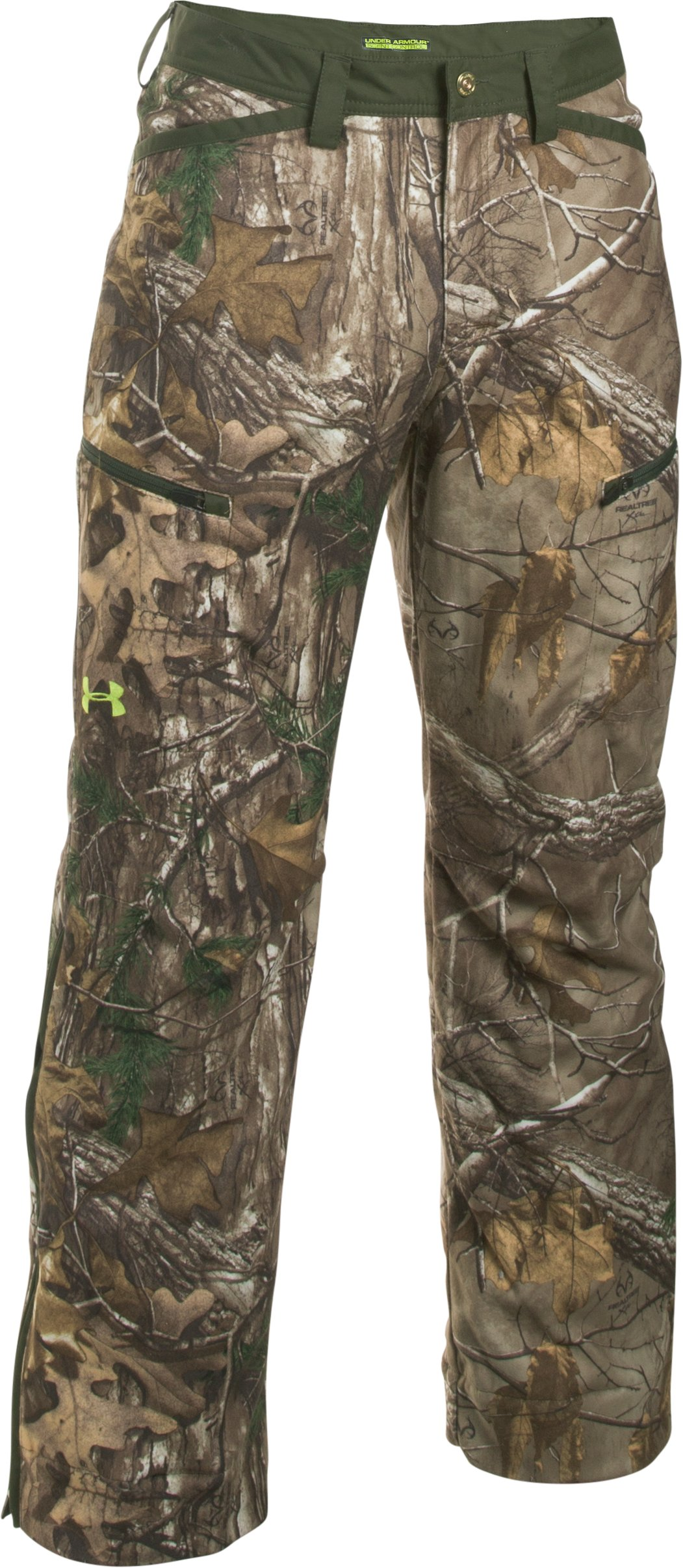 Men's UA ColdGear® Infrared Scent Control Rut Pants, REALTREE AP-XTRA